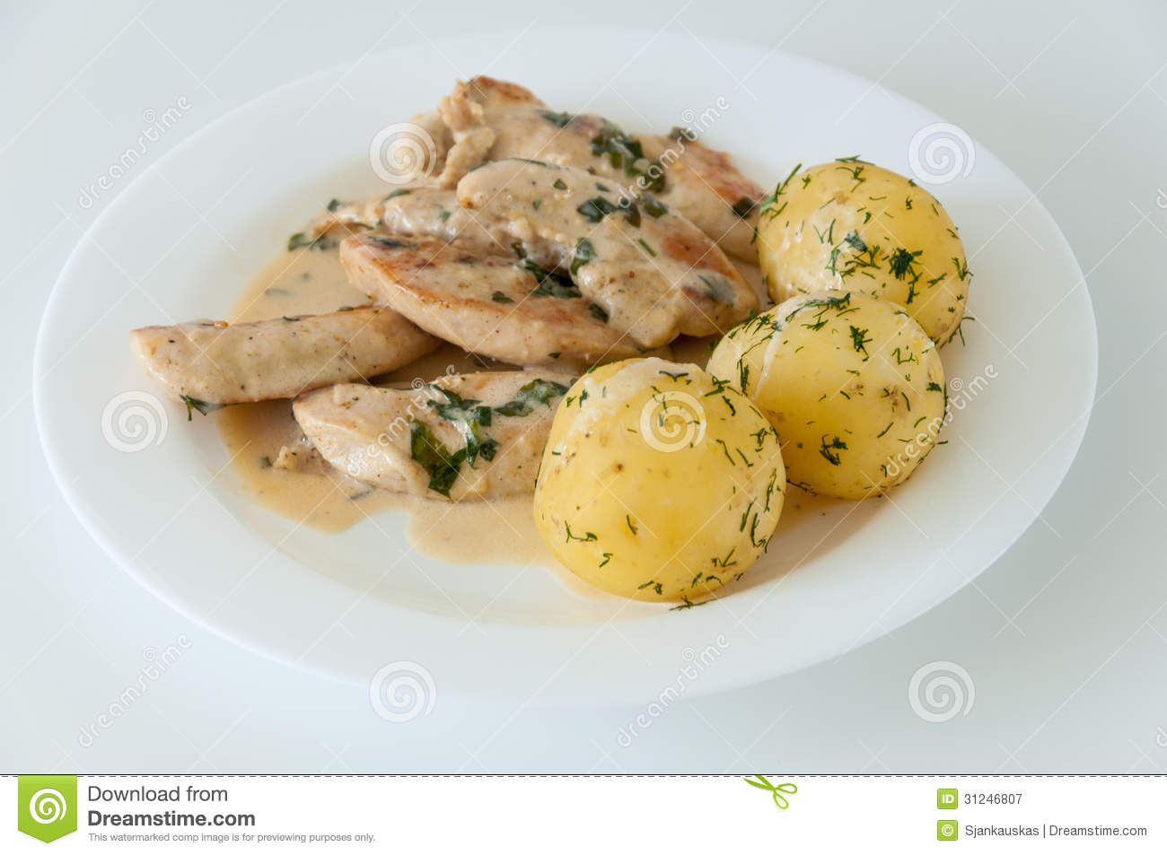 Chicken Stew Clipart