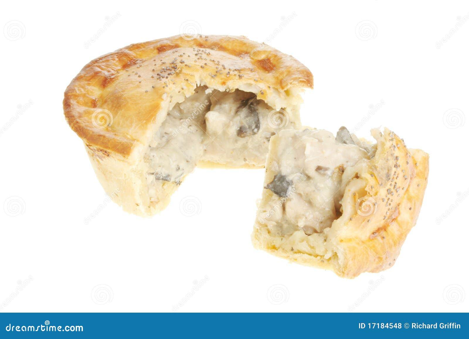 Chicken And Mushroom Pie Royalty Free Stock Photos - Image: 17184548