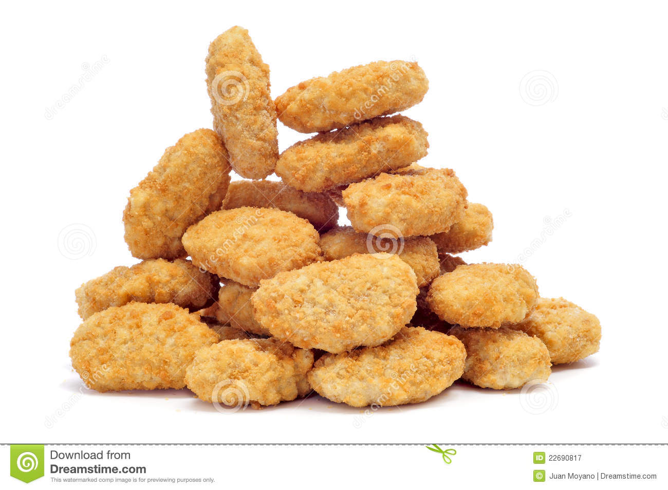 chicken nuggets stock image image of crunchy chicken 22690817 rh dreamstime com chicken nuggets clipart free chicken nuggets clipart free