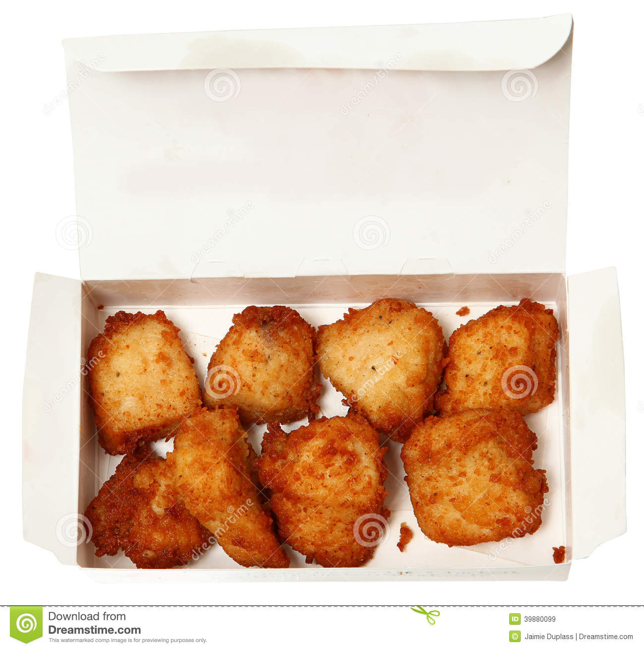 Fast Food In The Box Royalty-Free Stock Photography