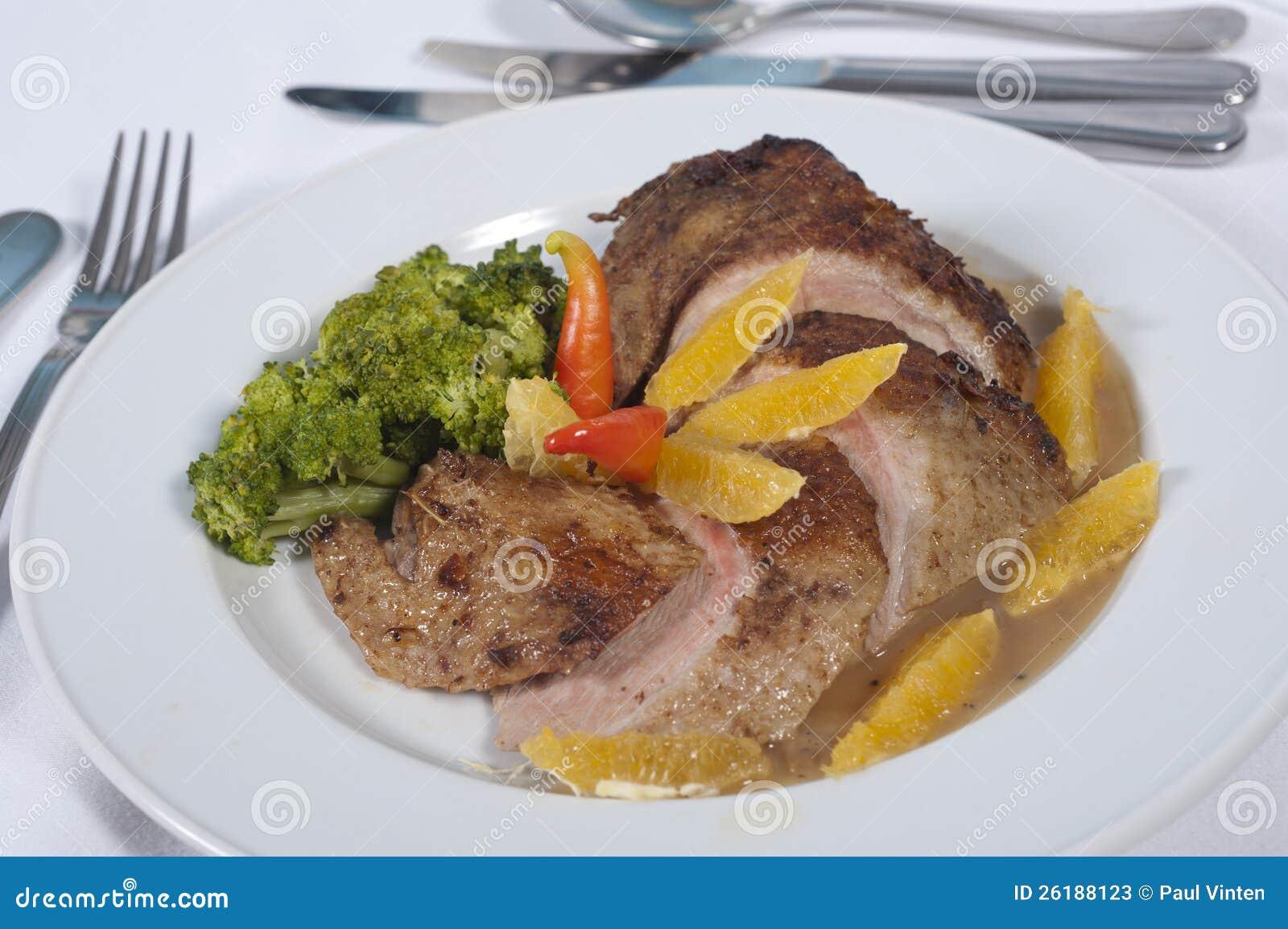 Chicken a La Carte Reaction