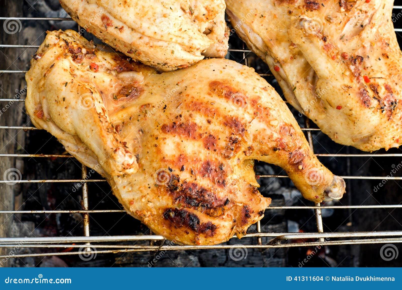 Chicken Over A Fire St...