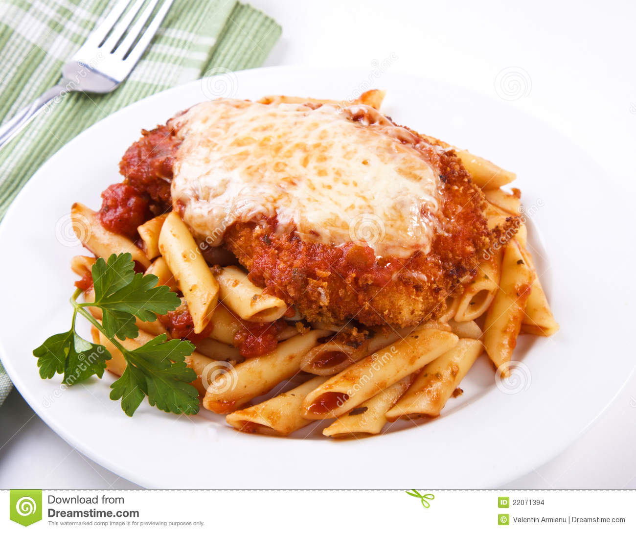 Chicken Parmigiana Stock Images Image 22071394