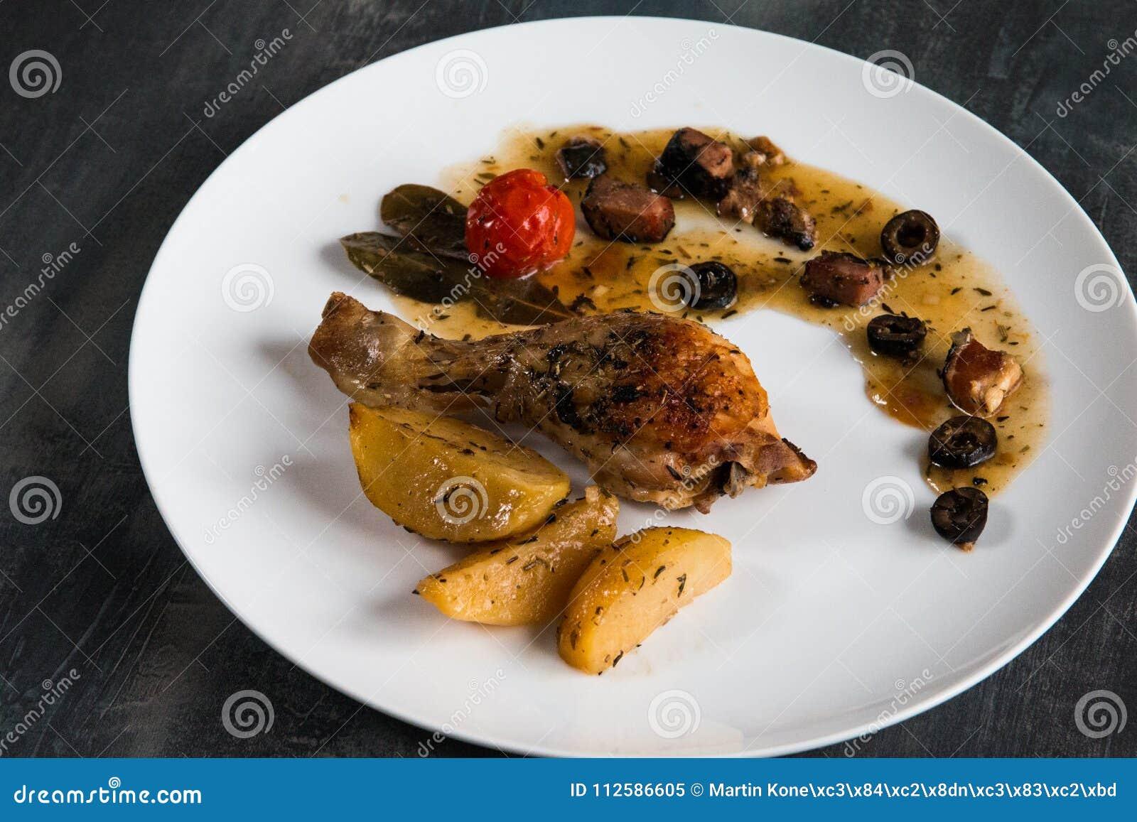 Chicken Provencal homemade