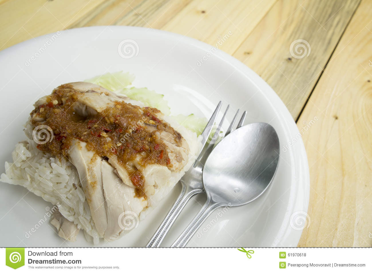 Chicken rice soup empty sauce meat asian food concept for Cuisine concept
