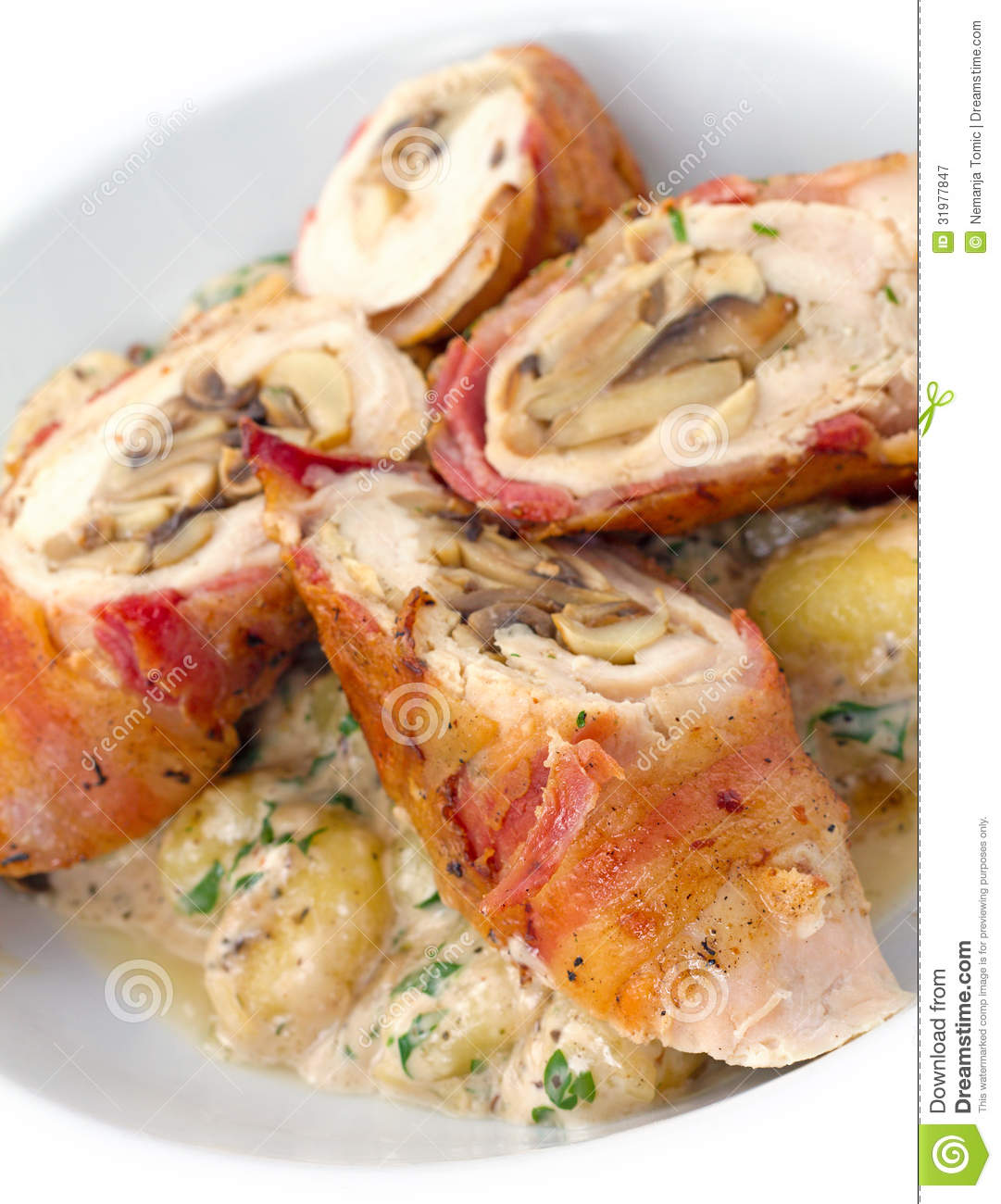 Chicken Bacon Roulades Recipes — Dishmaps