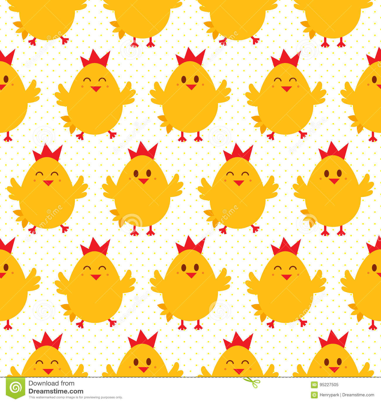 Chicken seamless