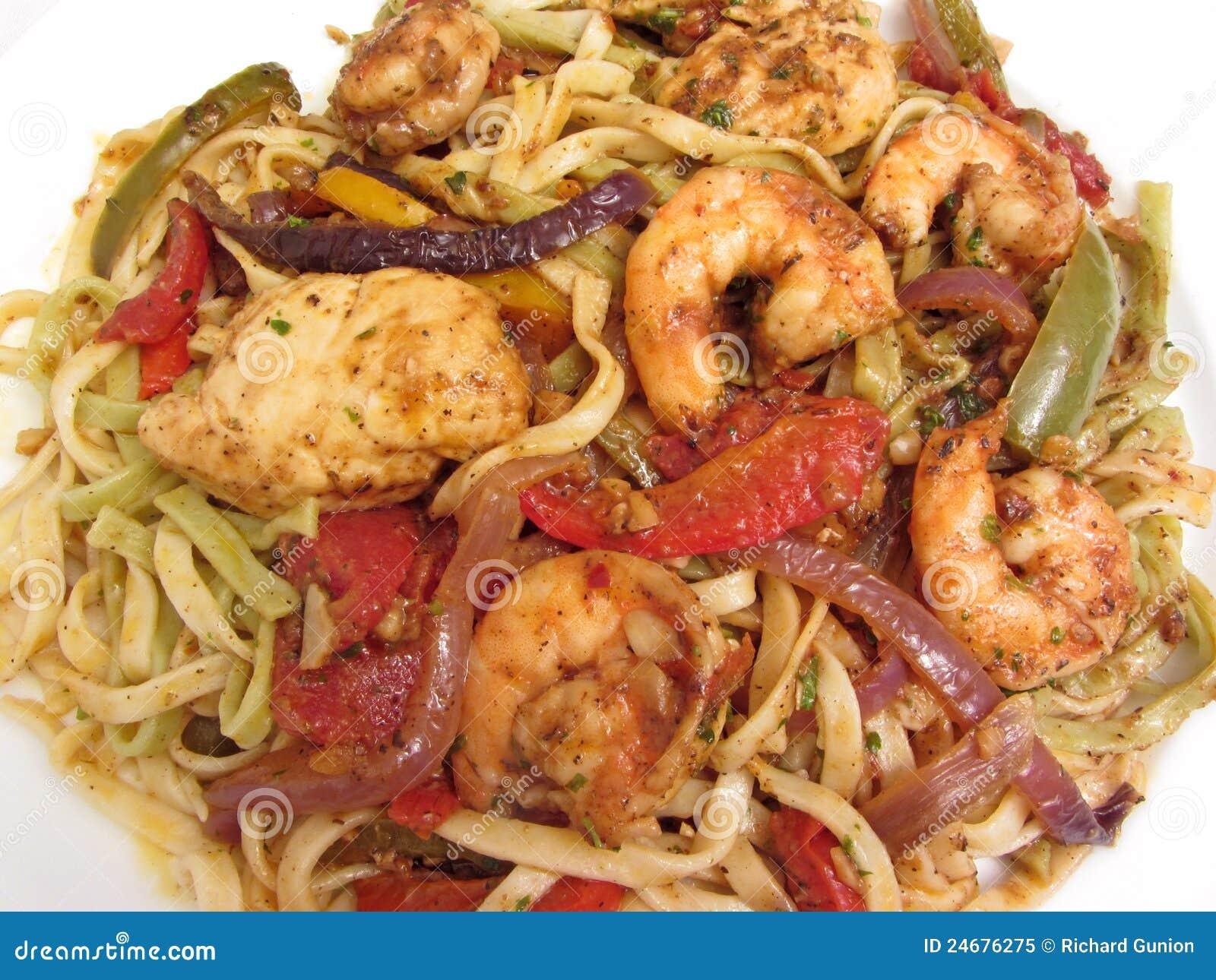 Jambalaya With Shrimp, Chicken And Ham Recipes — Dishmaps