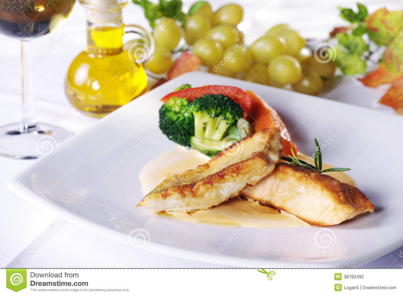 Garnish for chicken can be different 96