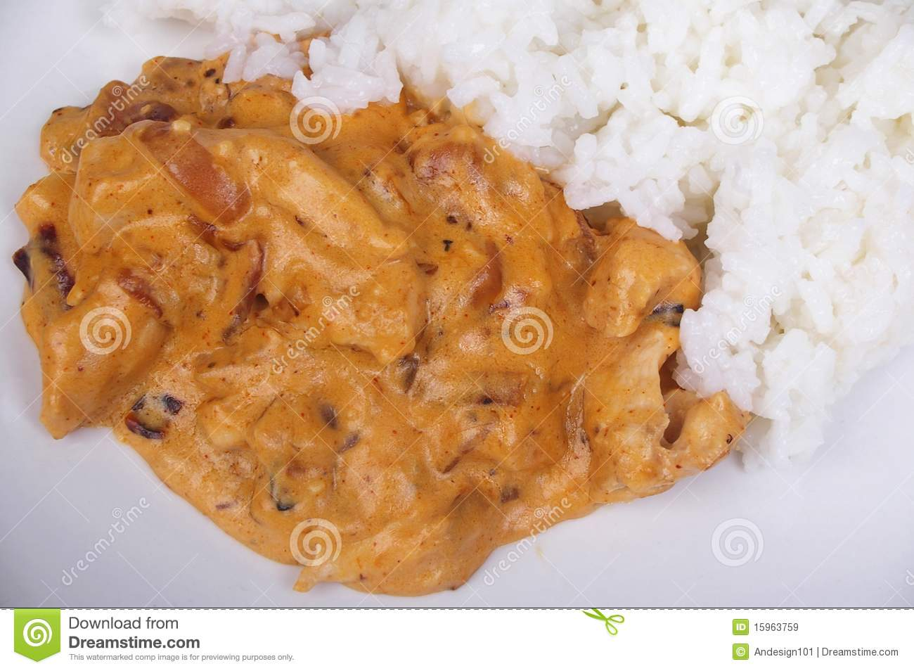 Chicken Stroganoff Royalty Free Stock Images - Image: 15963759