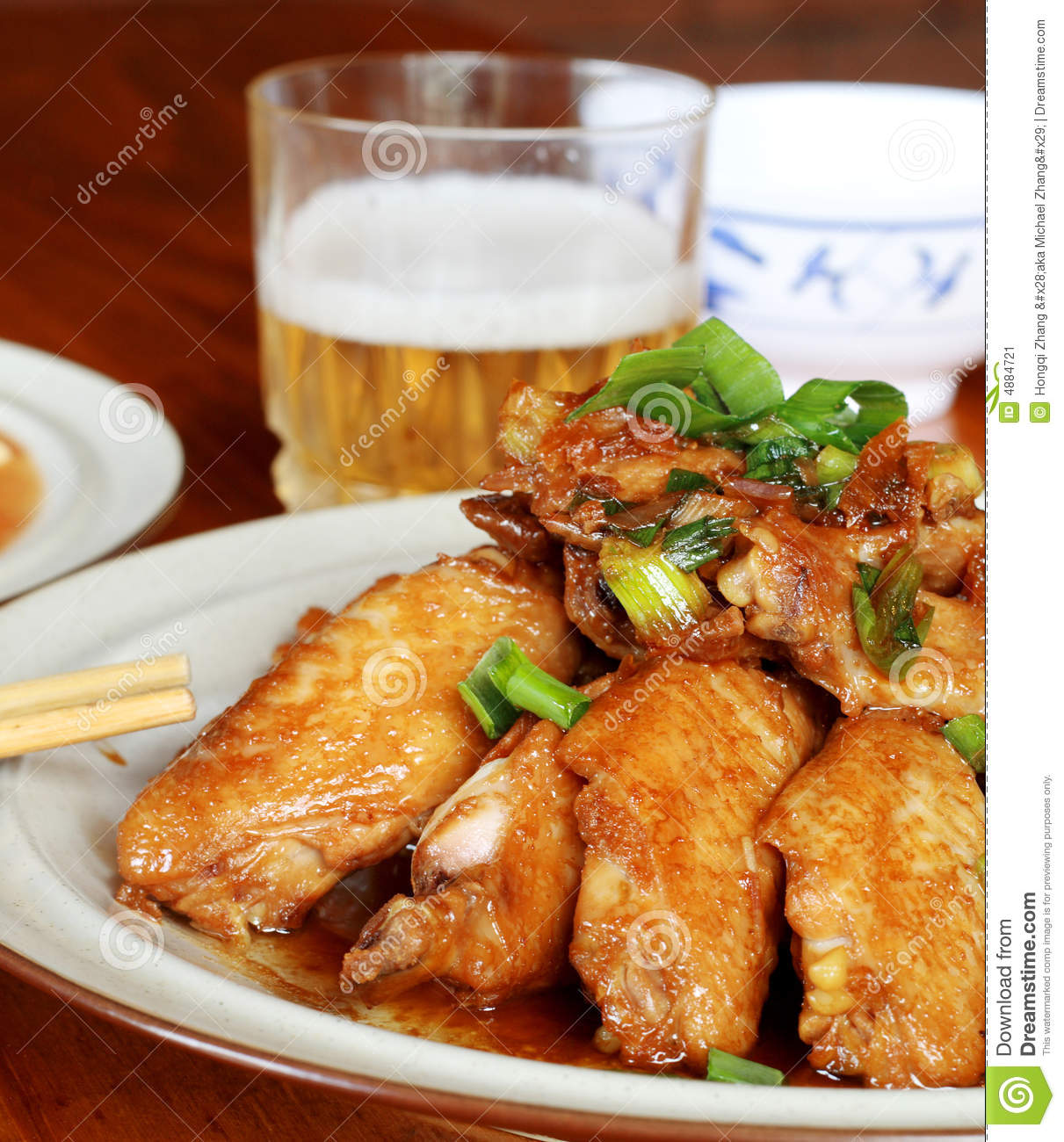 Chicken and beer - photo#9