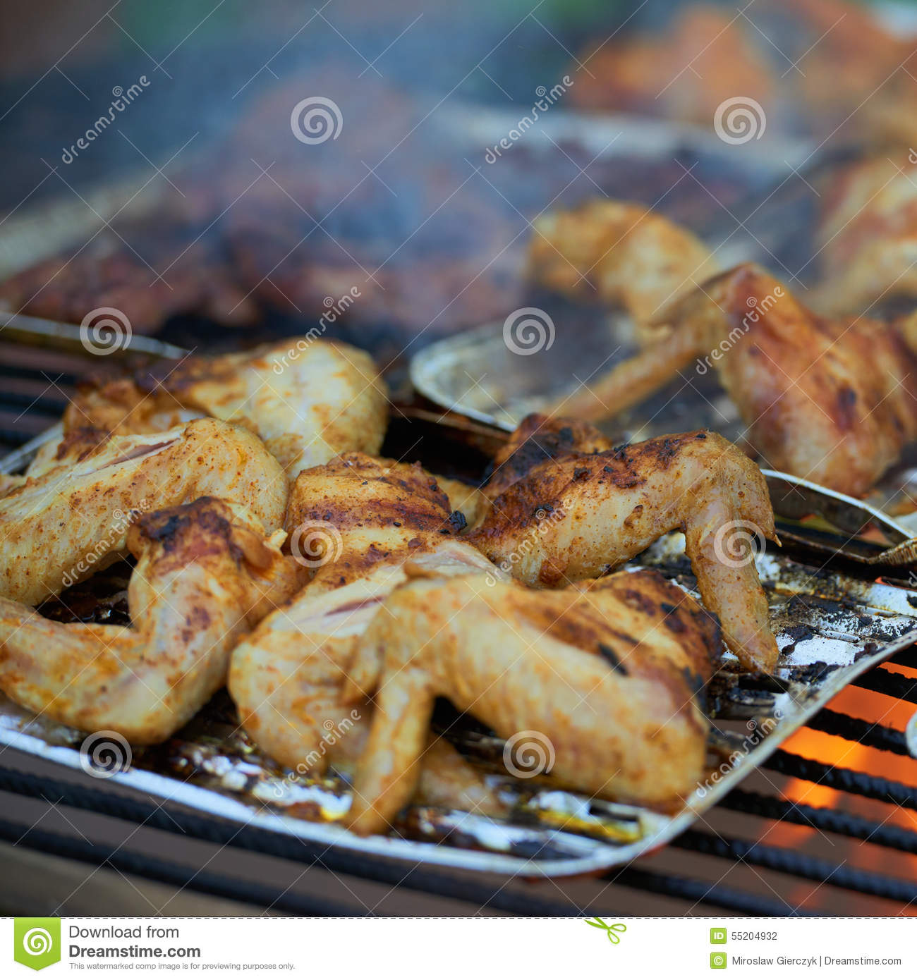 how to make chicken wings on the grill