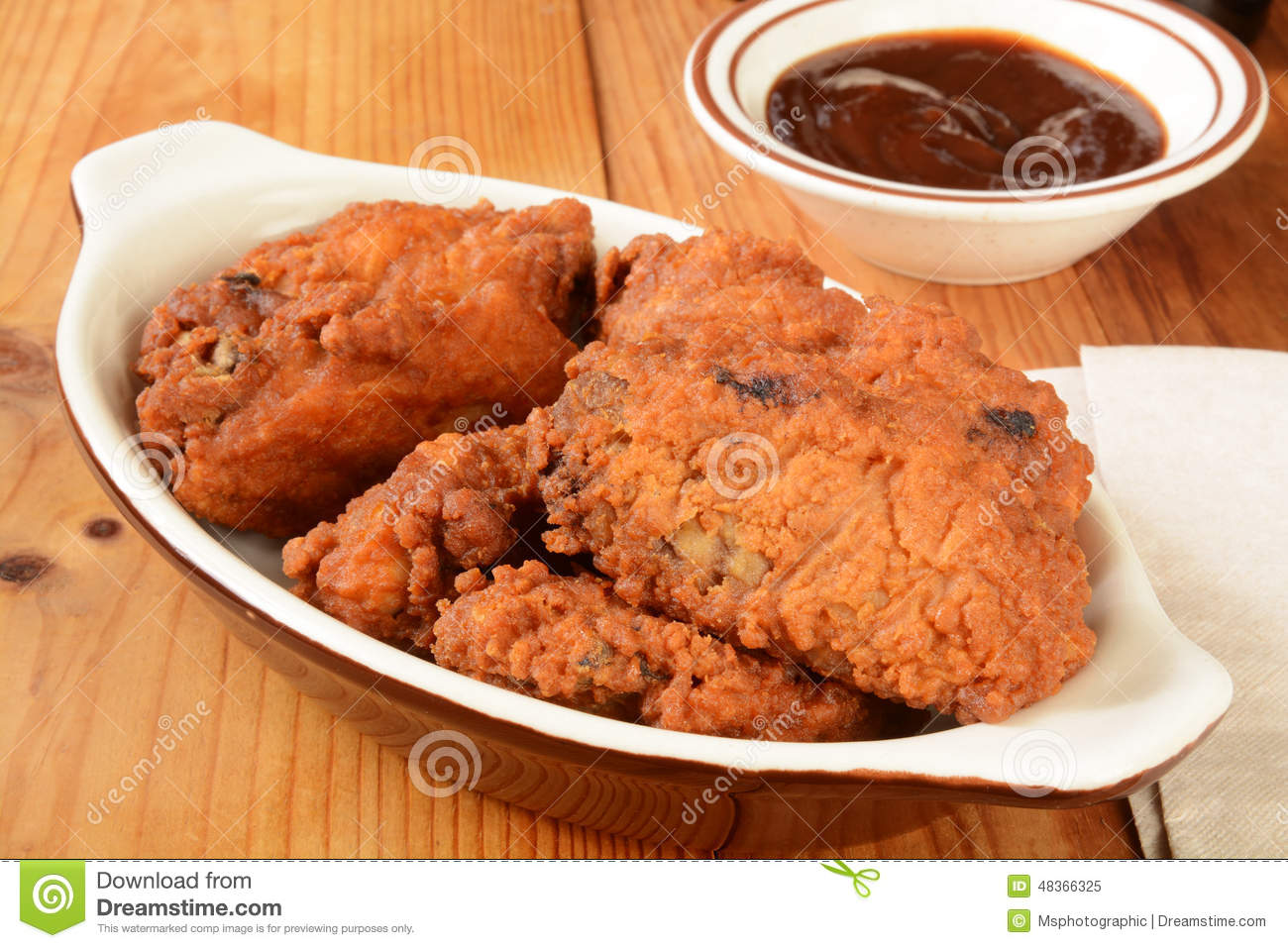 Chicken wings stock photo image 48366325 for What sides go with barbecue chicken