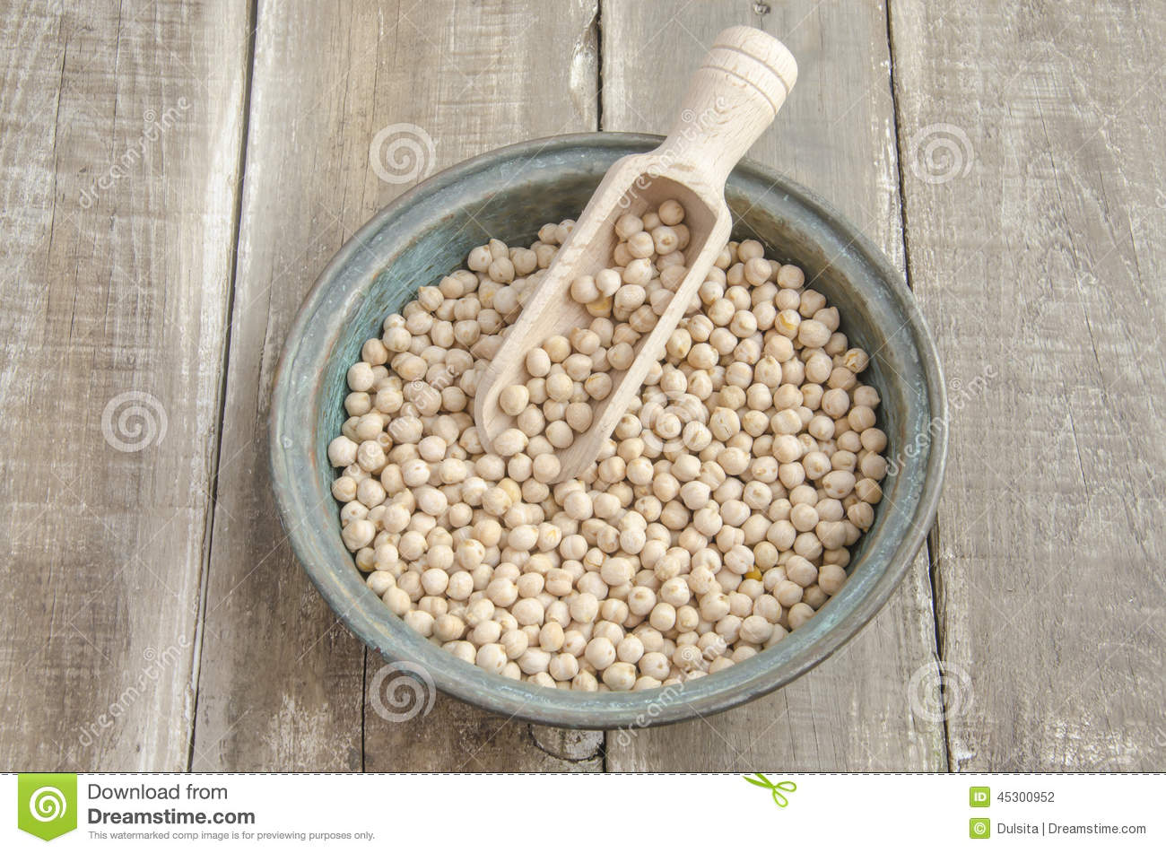 how to prepare dried chick peas