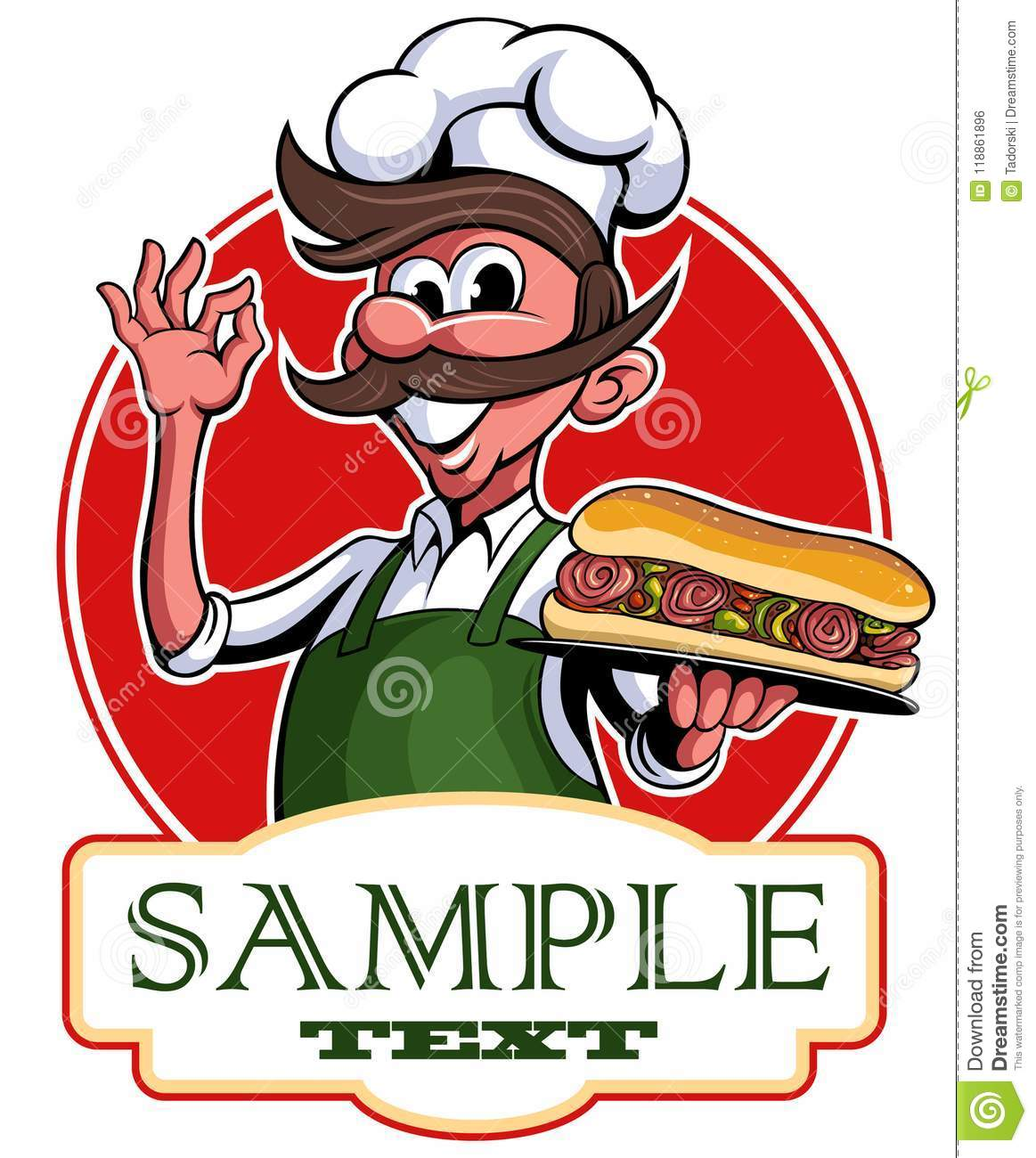 sandwich cartoon stock illustrations 20 415 sandwich cartoon stock illustrations vectors clipart dreamstime https www dreamstime com chief cook offers to taste italian sandwich vector logo vector cartoon character chef s man sandwich restaurant image118861896