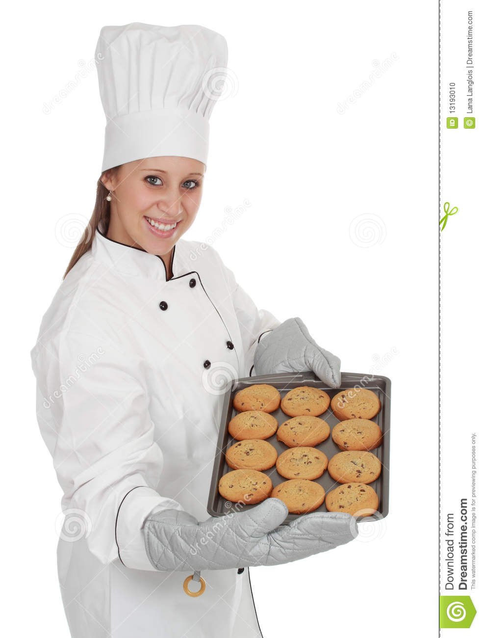 chief cook woman stock photo image of uniform food 13193010