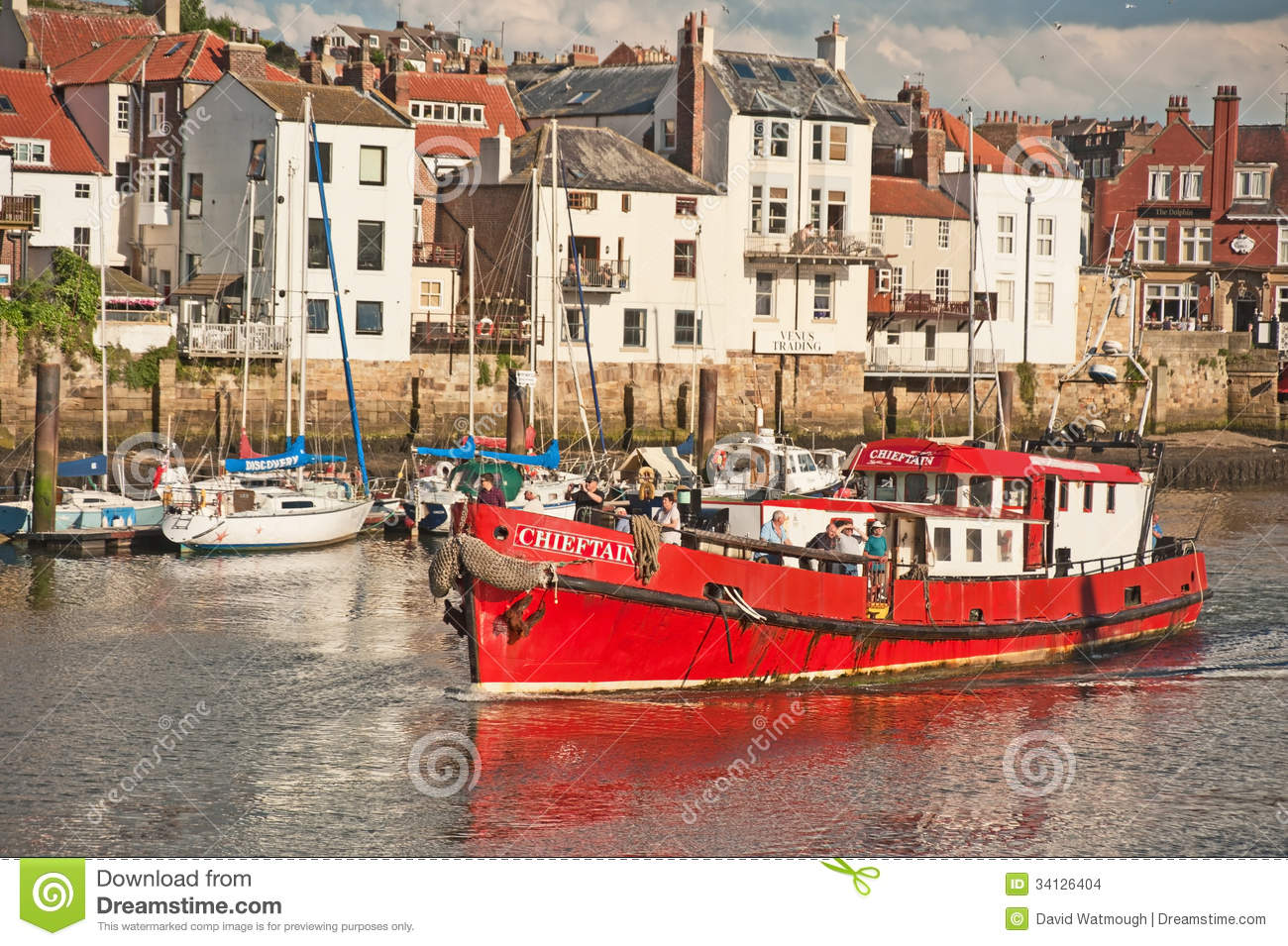 Chieftain Fishing Boat Editorial Stock Image Image Of
