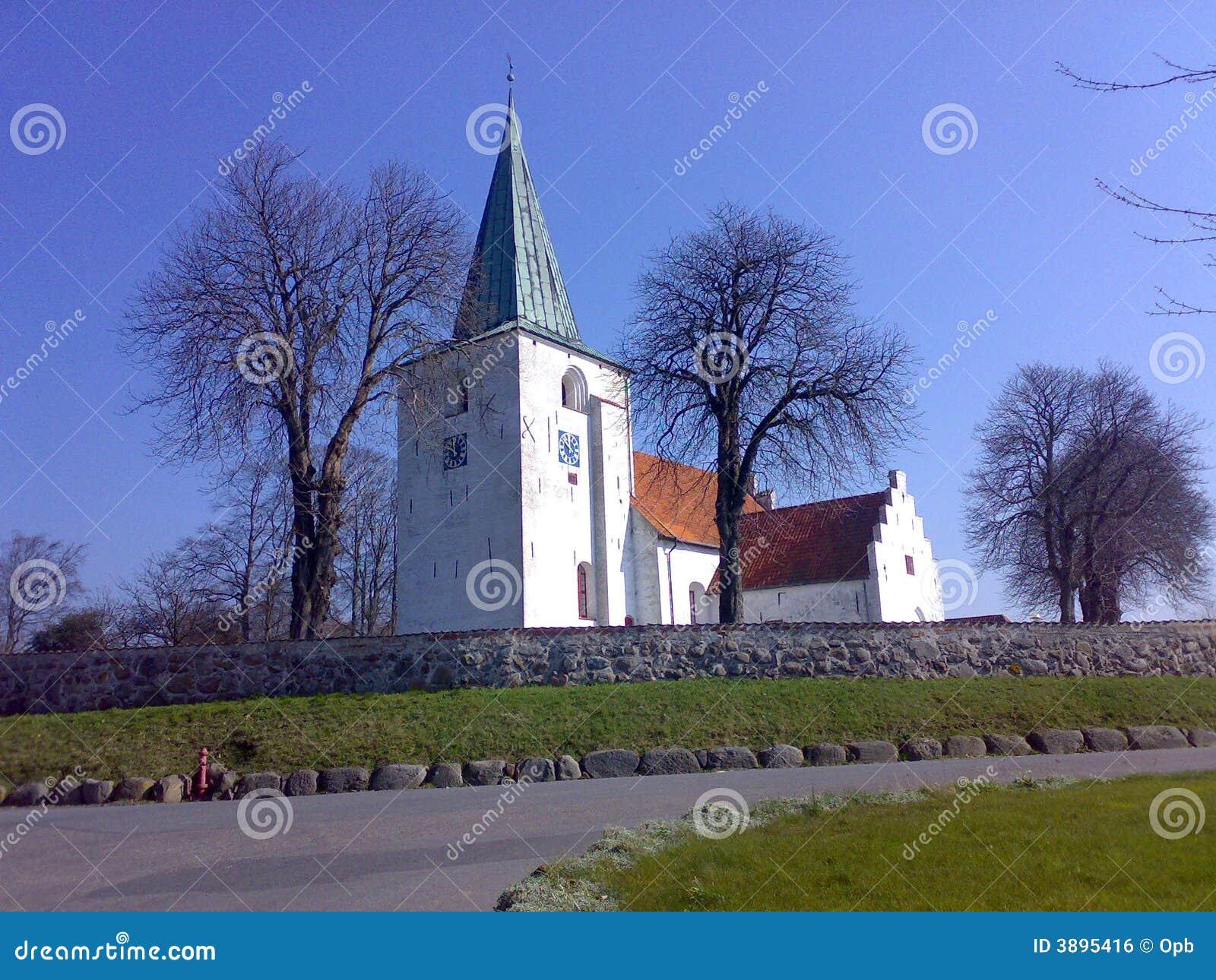 Chiesa aero dell isola della Danimarca