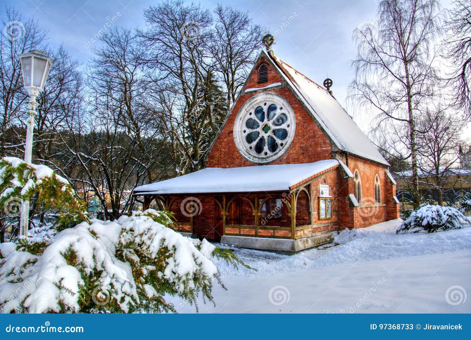 Chiesa Anglicana della chiesa di Cristo - Marianske Lazne - la repubblica Ceca