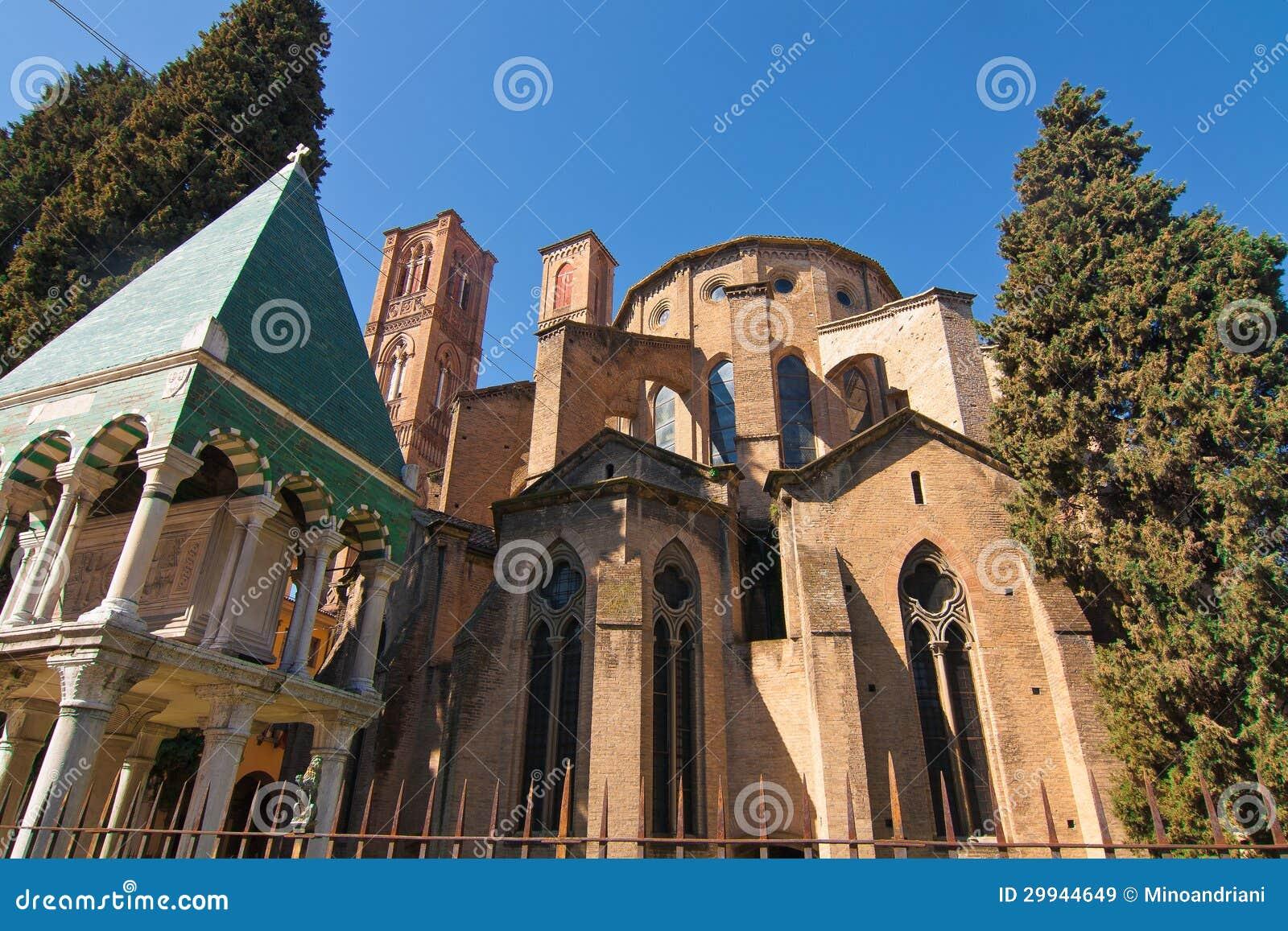 Chiesa Di S. Francesco A Bologna Immagine Stock - Immagine ...