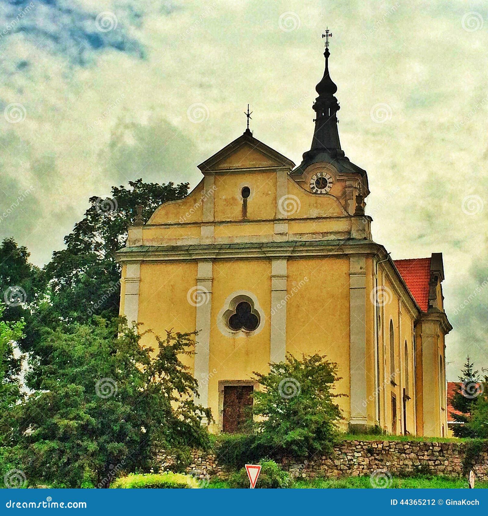 Chiesa barrocco in repubblica Ceca in Europa orientale