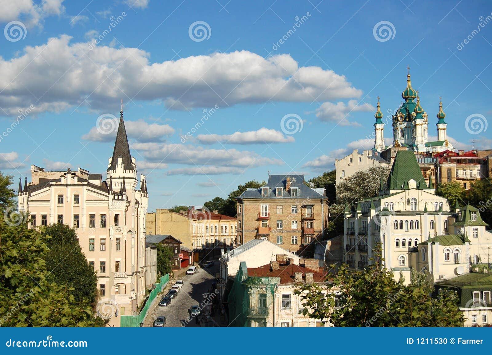 Chiesa del `s della st Andrew, Kiev, Ucraina