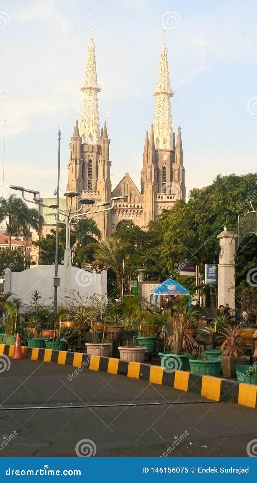 Chiesa della cattedrale di Jakarta, Jakarta - Indonesia
