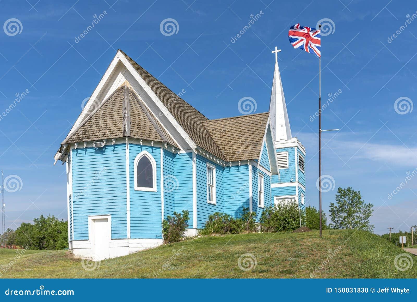 Chiesa della st Edmund in grande valle, Alberta