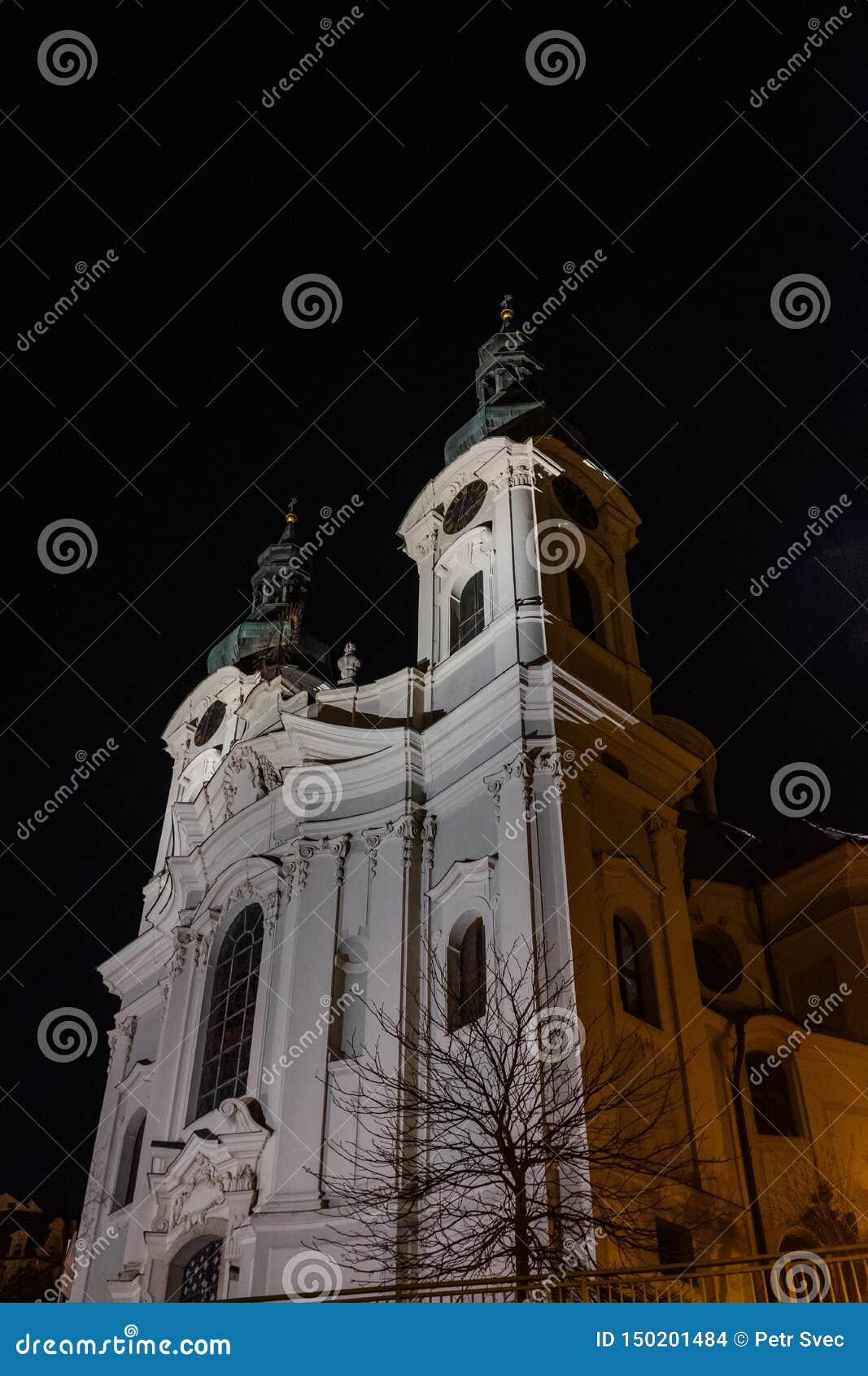 Chiesa della st Maria Maddalena alla notte