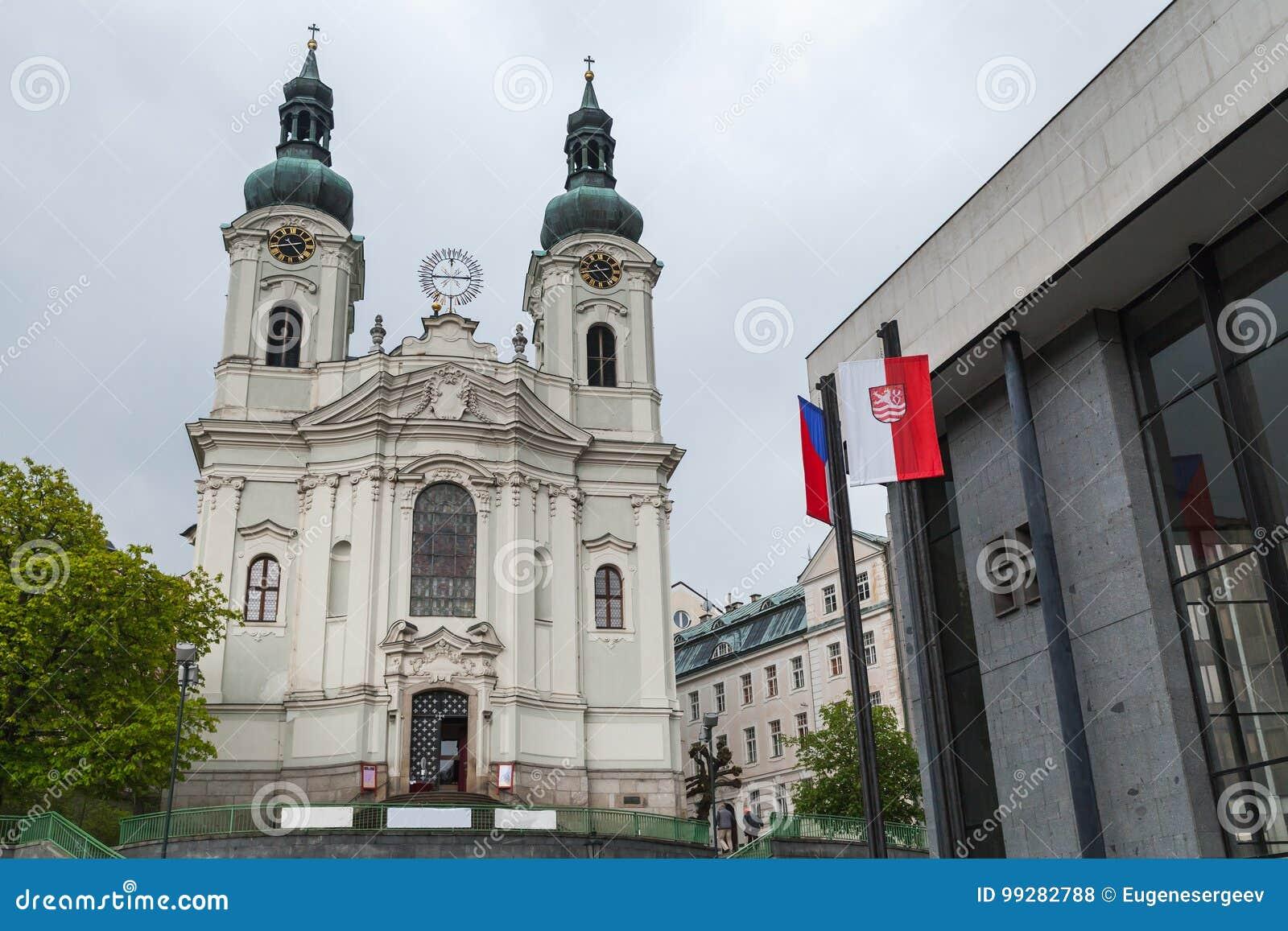 Chiesa della st Mary Magdalene Karlovy varia