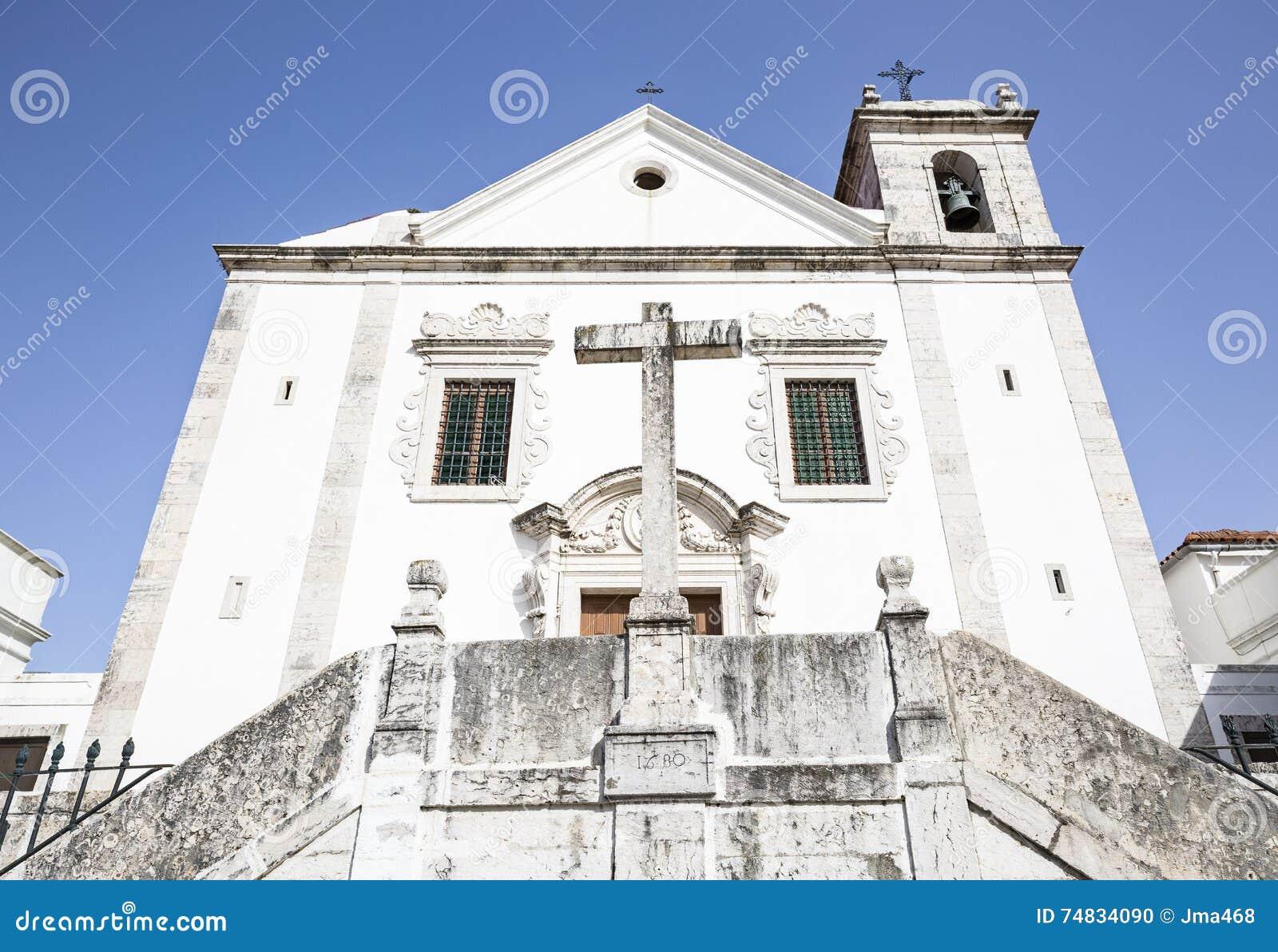 Chiesa di parrocchia di SantÃssimo Nome de Gesù in Odivelas, Lisbona,