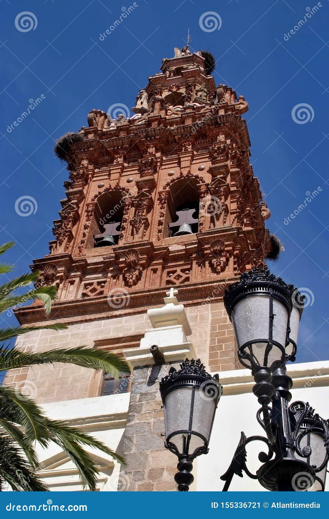 Chiesa di San Michael a Jerez de los Caballeros, Estremadura - Spagna