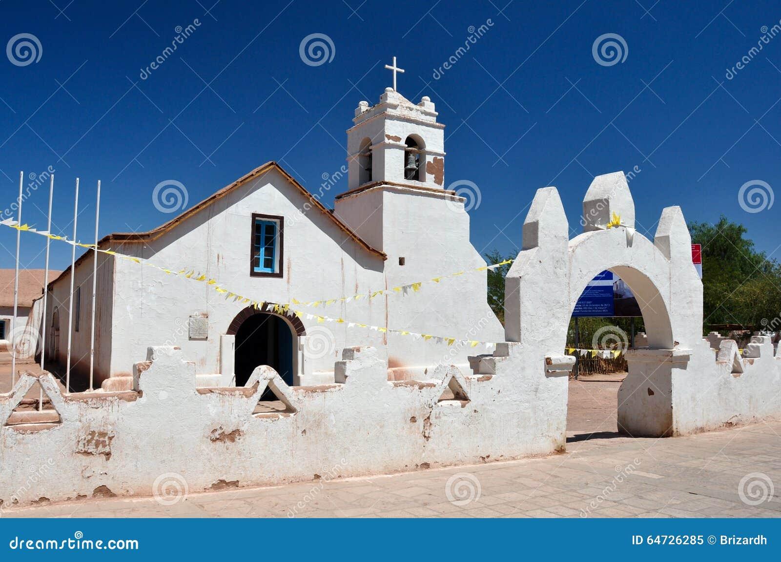 Chiesa di San Pedro de Atacama, Cile