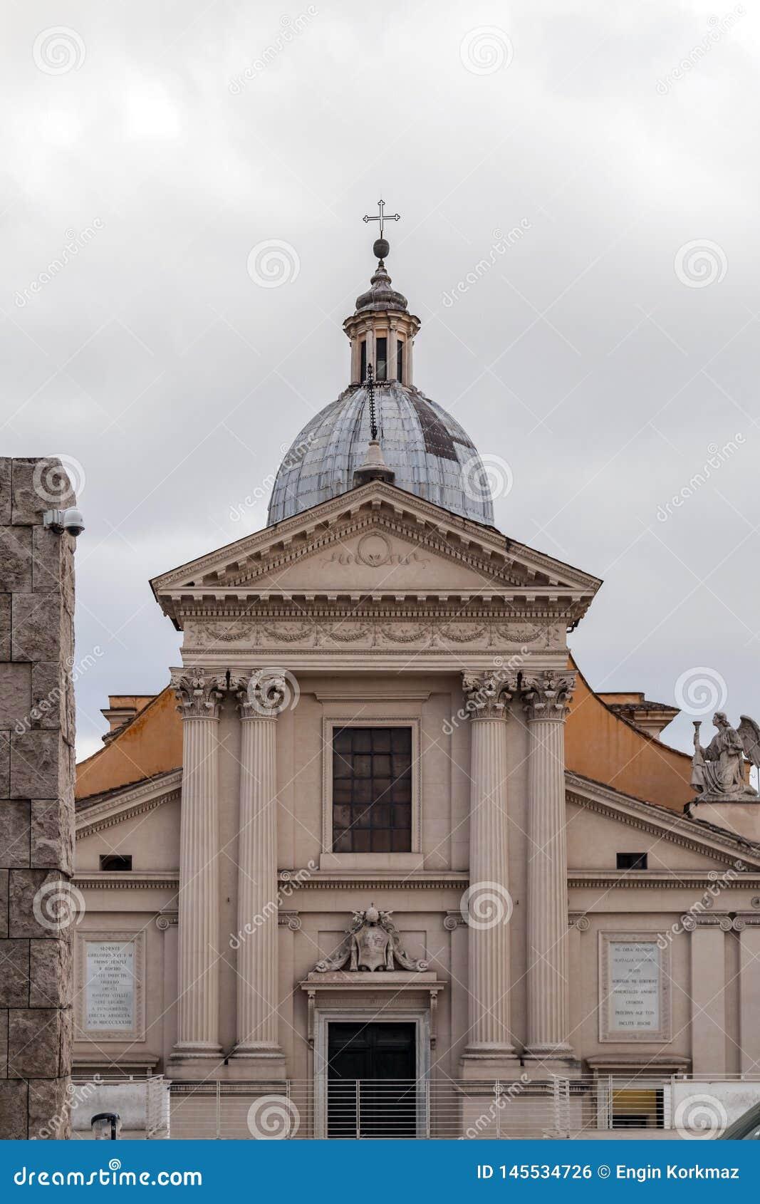 Chiesa di San Rocco or St. Roch Church in Rome, Italy