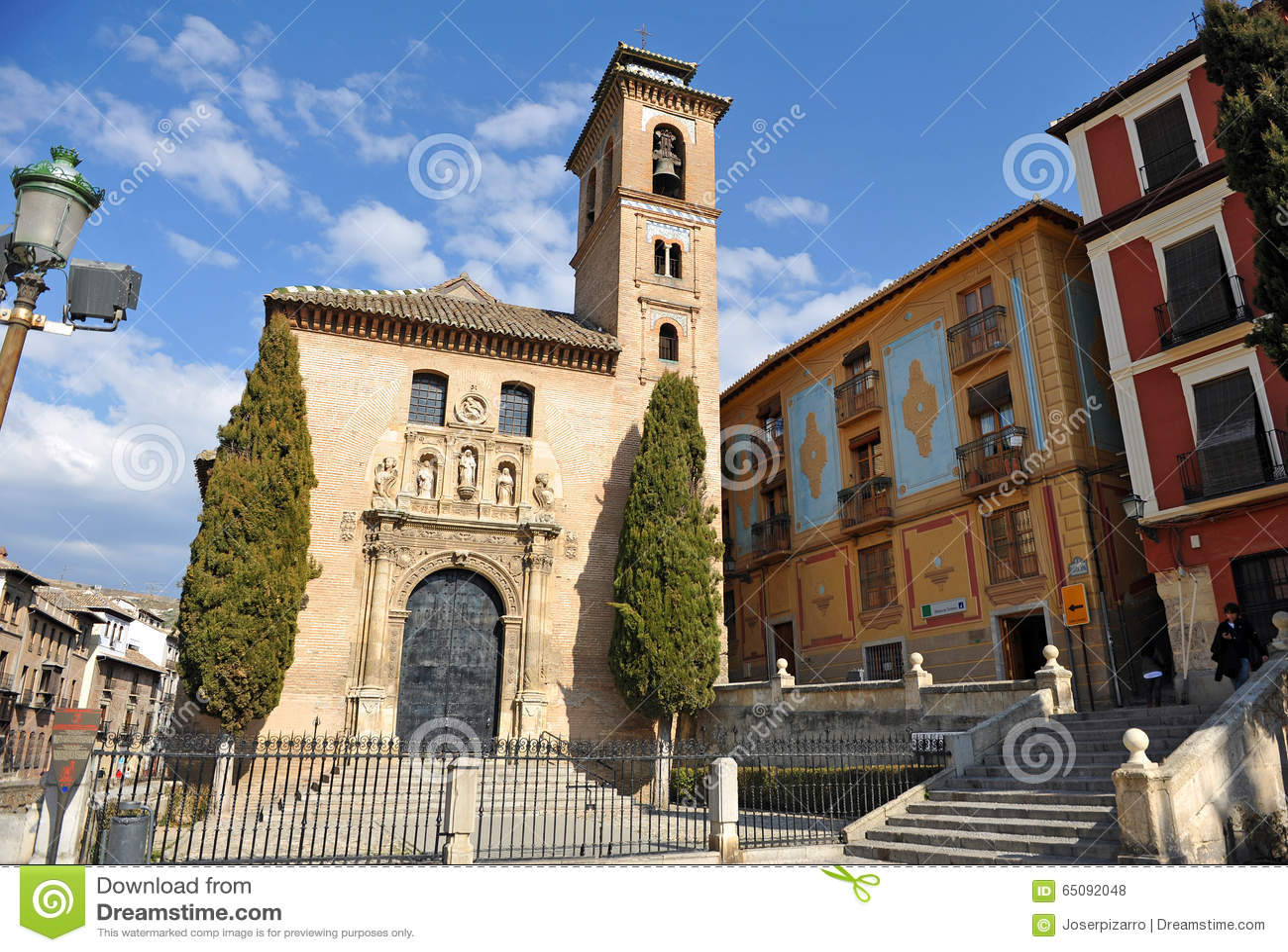 Chiesa di santa ana a granada andalusia spagna - Santa ana granada ...