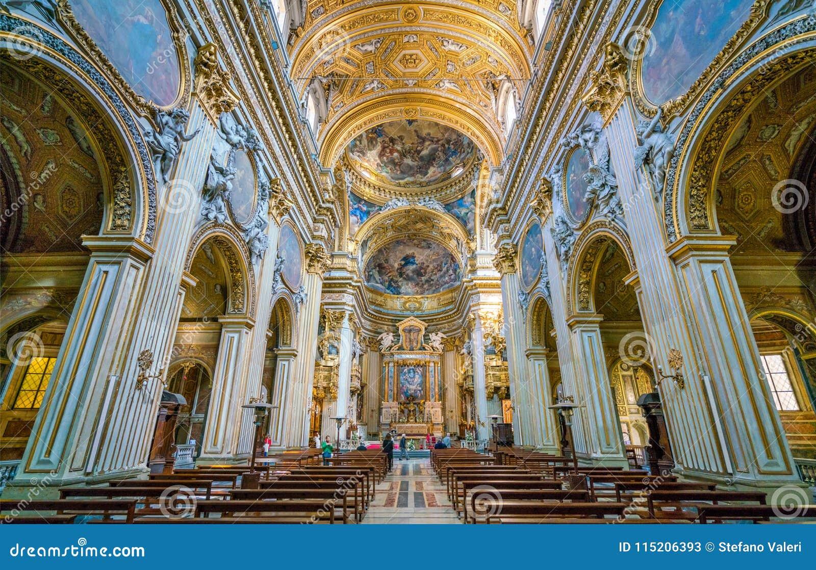 Chiesa Di Santa Maria In Vallicella O In Chiesa Nuova A Roma L