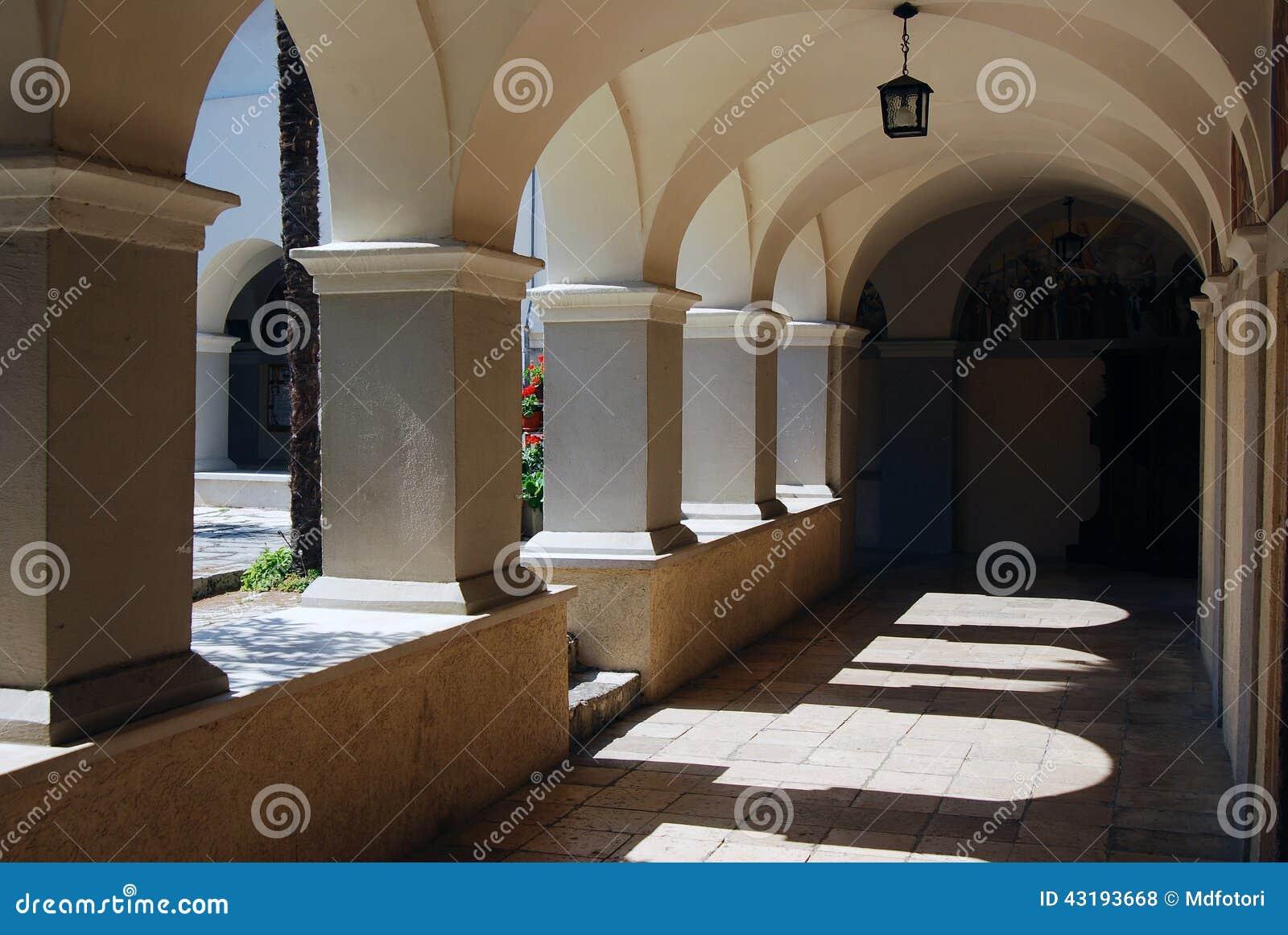 Chiesa di vergine Maria benedetto su Trsat a Rijeka