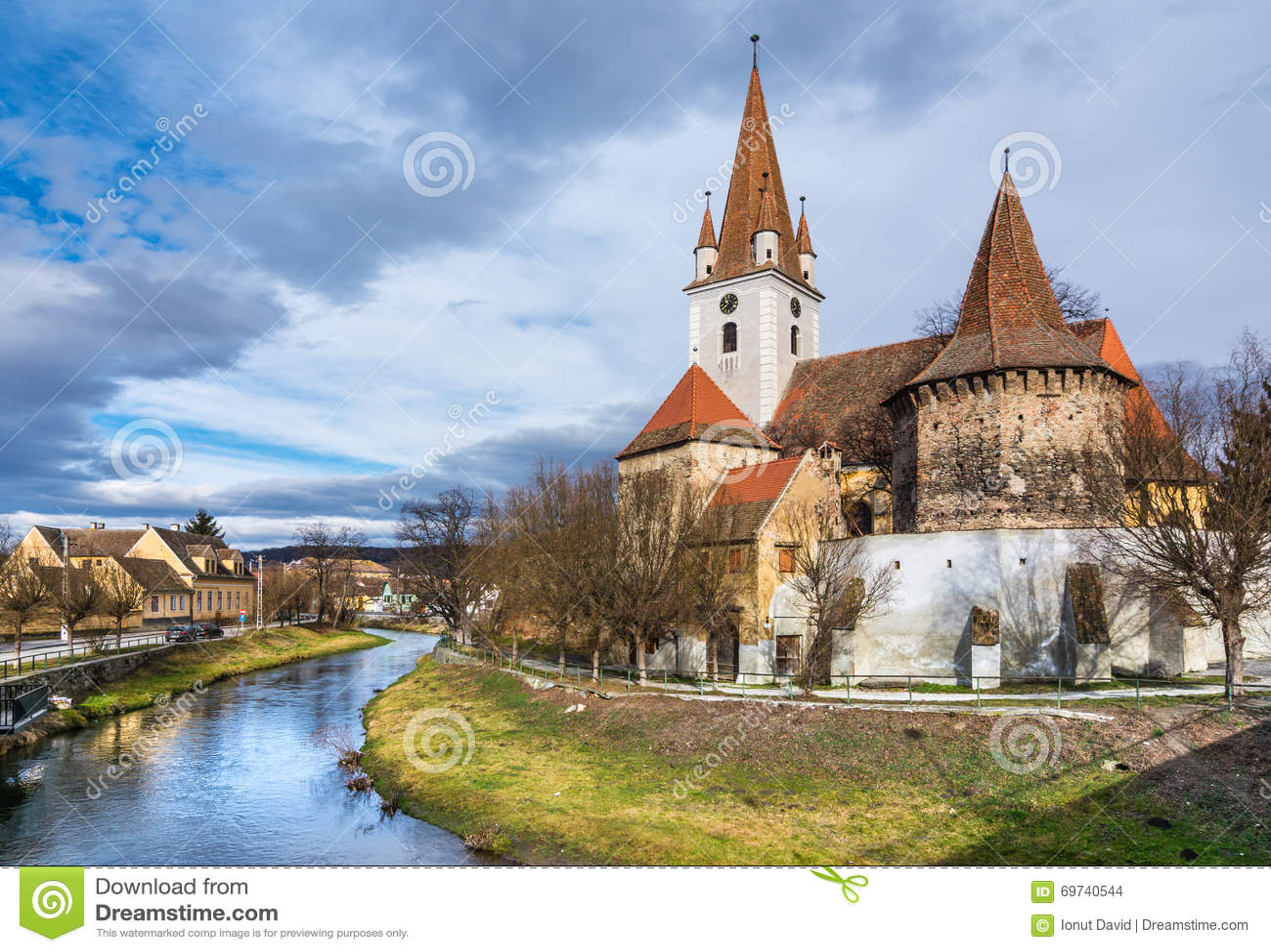 Chiesa fortificata di Cristian, Sibiu, Romania