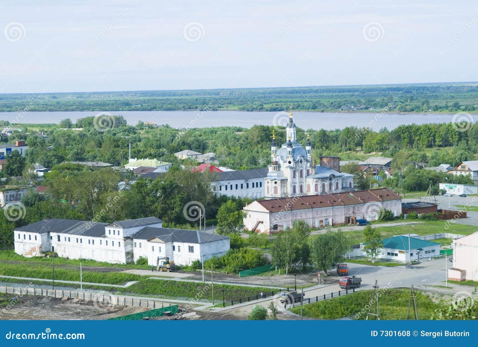 Chiesa nella città di Tobolsk