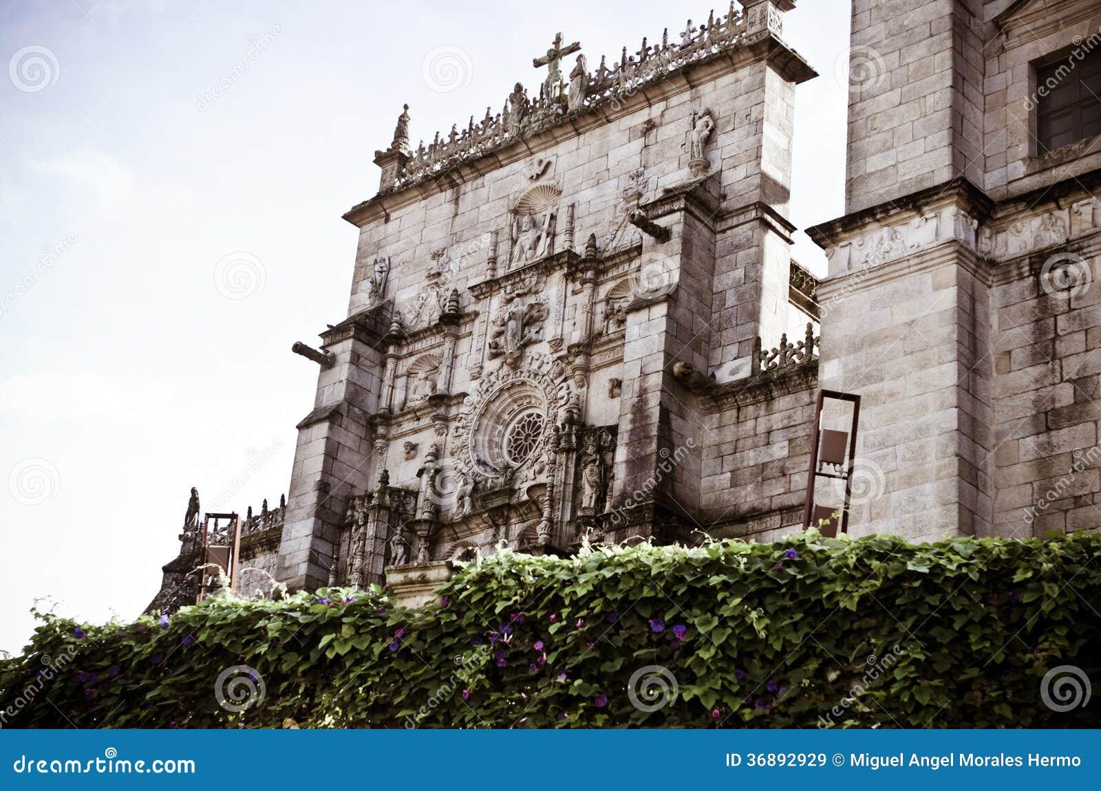 Download Chiesa a Pontevedra immagine stock. Immagine di storico - 36892929