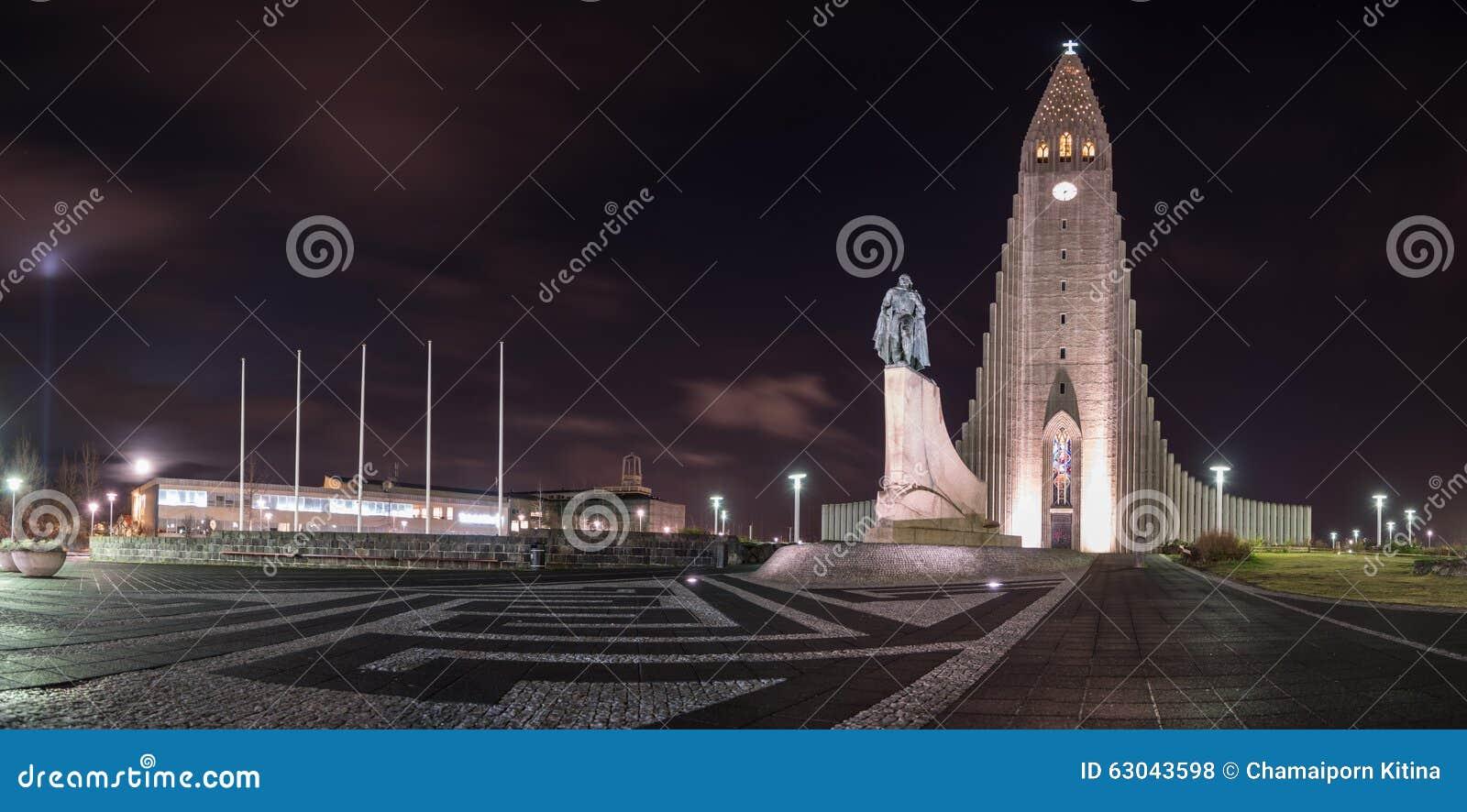 Chiesa Reykjavik Islanda di Hallgrimskirkja