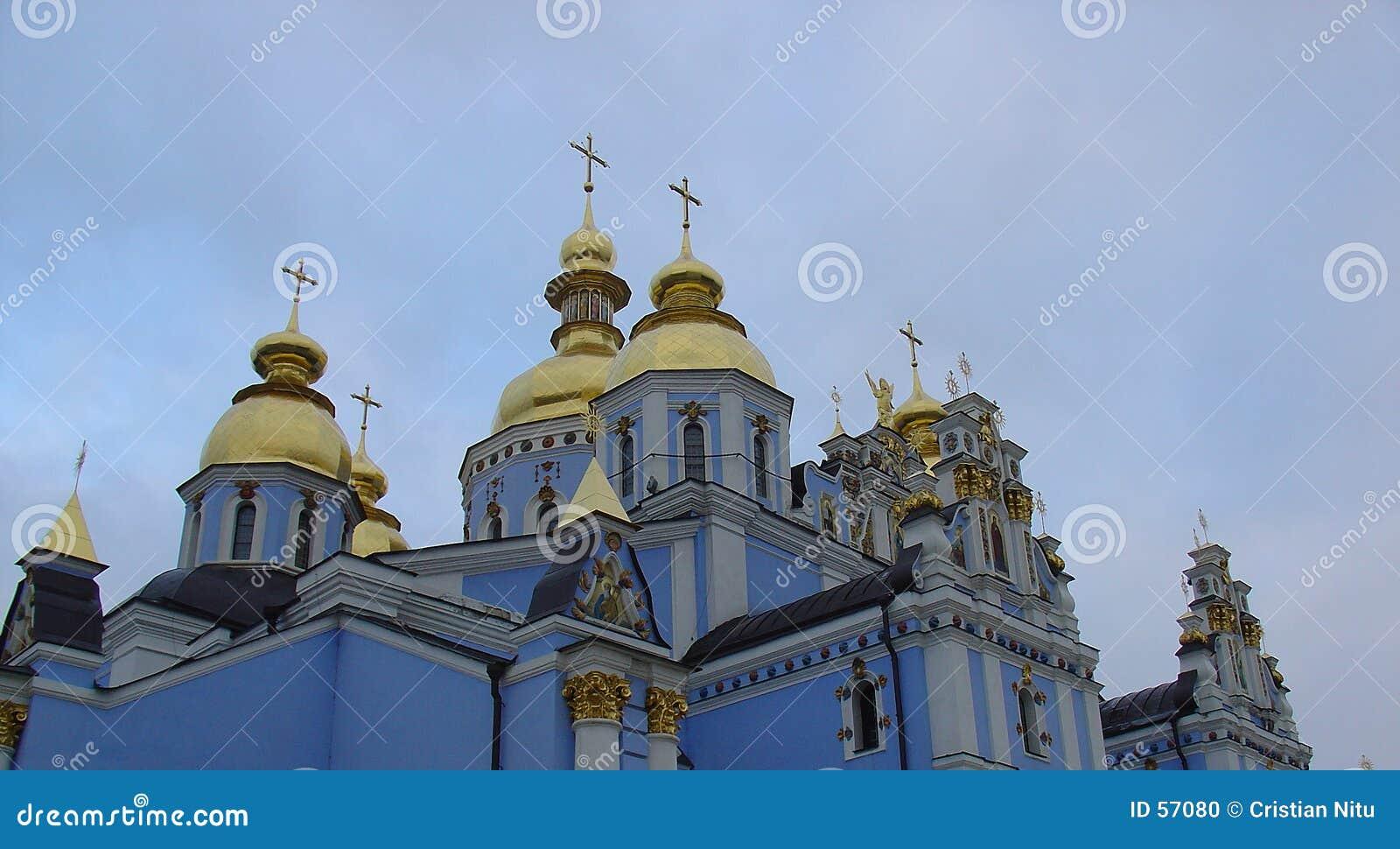 Chiesa russa blu