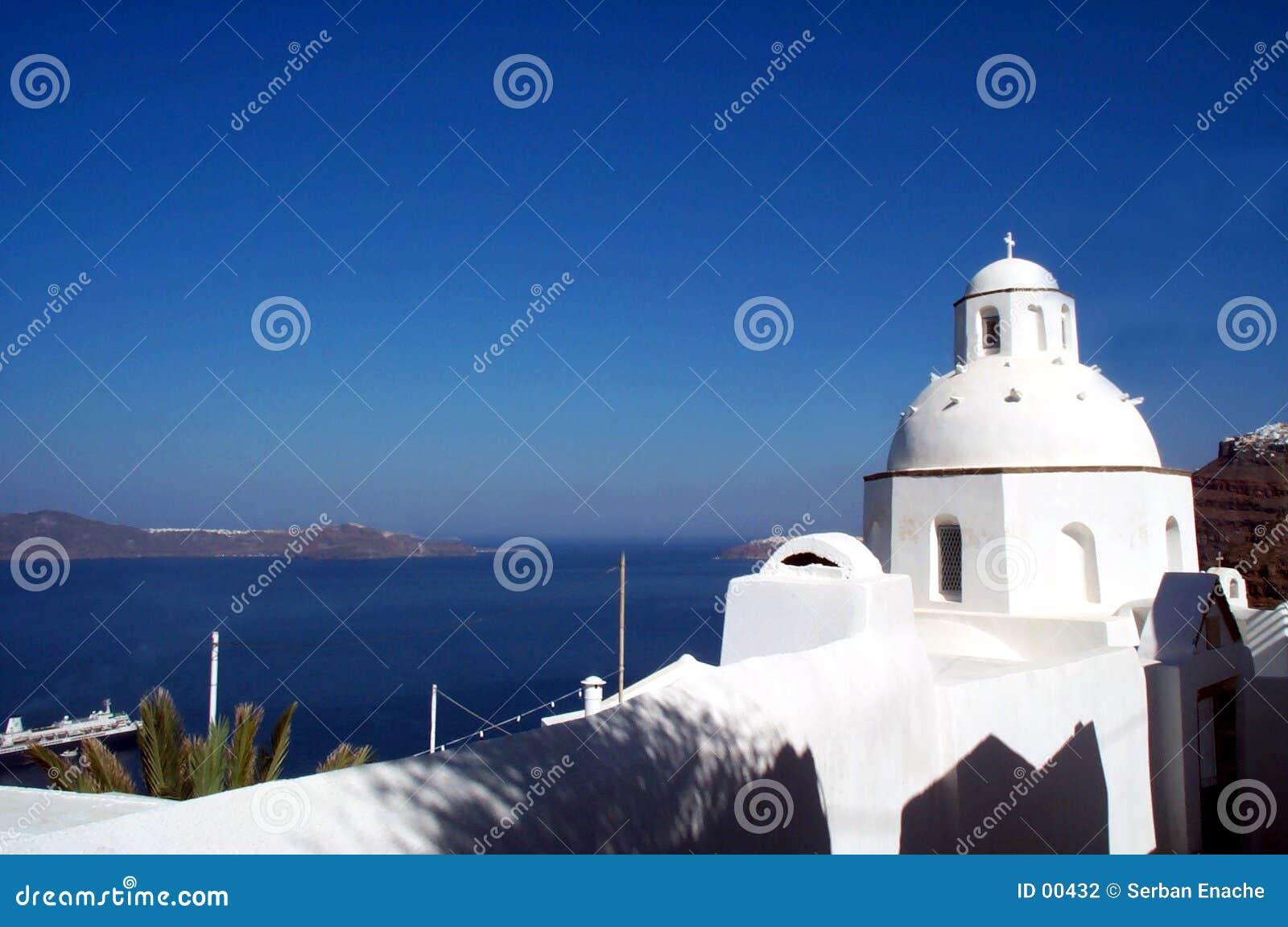 Chiesa in Santorini