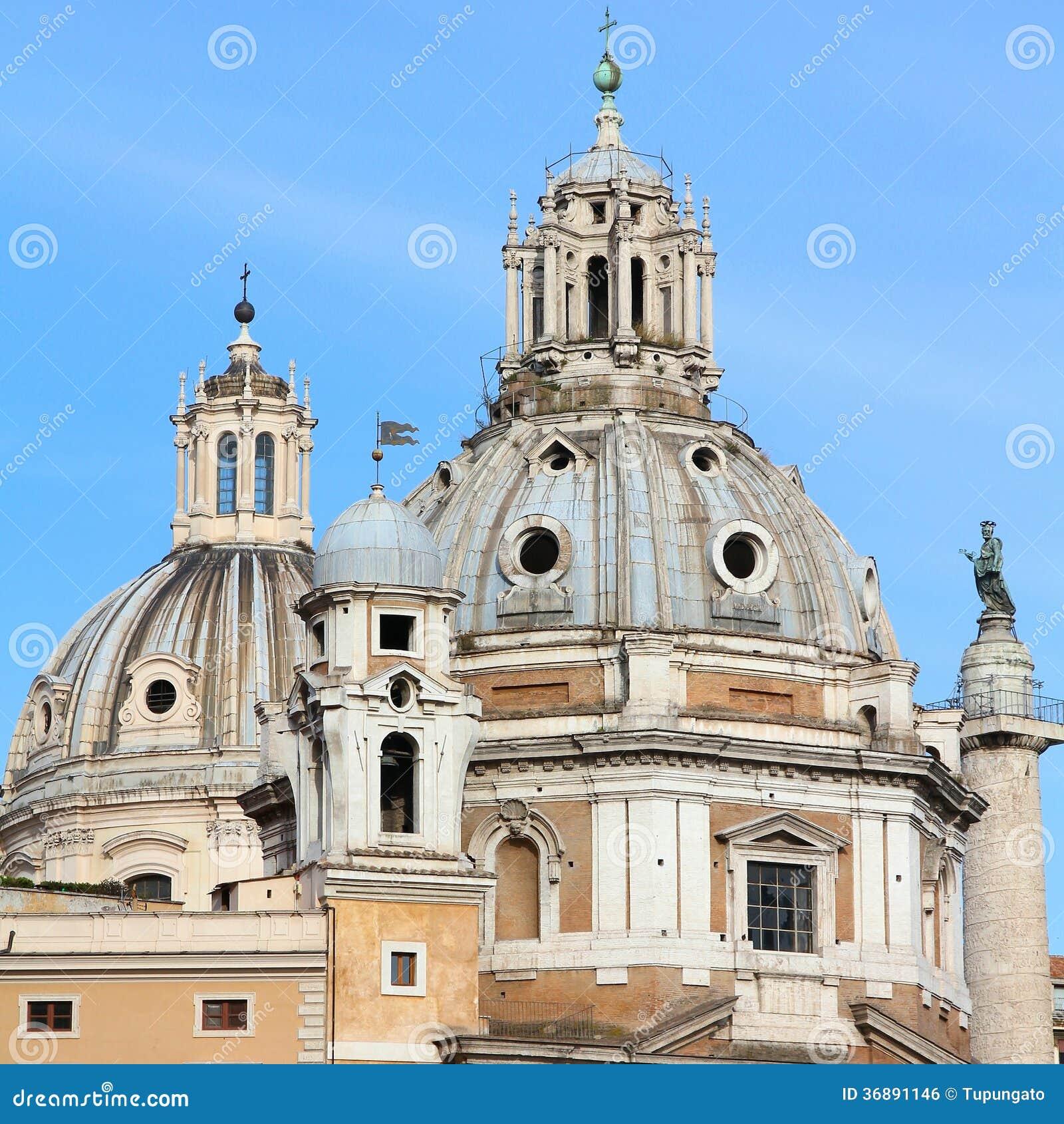 Download Chiese di Roma fotografia stock. Immagine di maria, architettura - 36891146