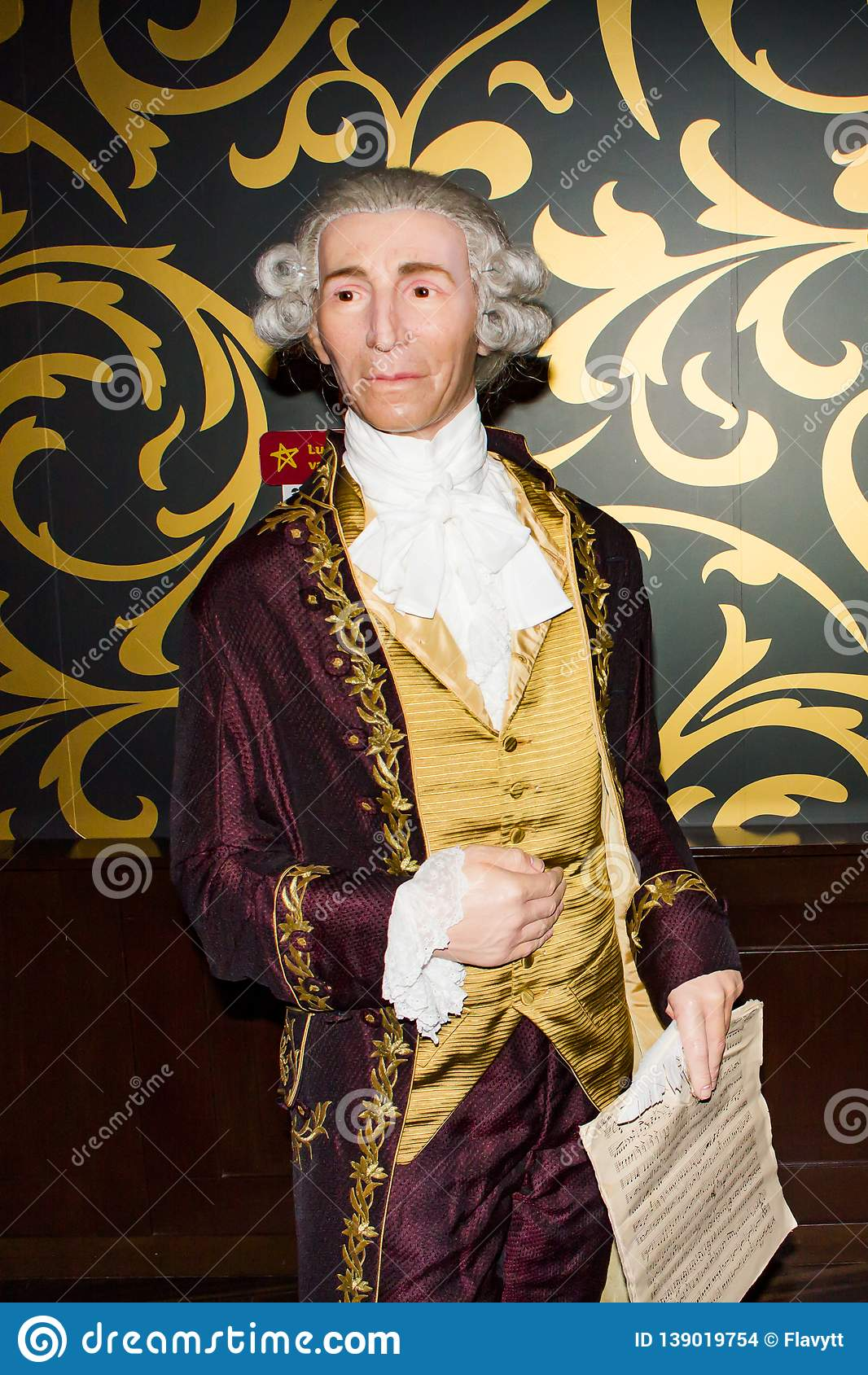Chiffre de cire de Joseph Haydn, Vienne de Madame Tussaud s