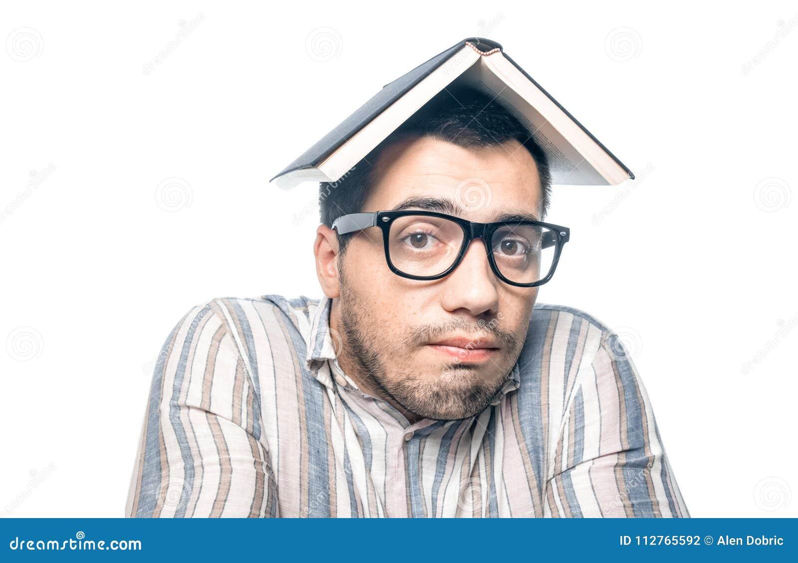 Chiffre dimensionnel homme trois du beau livre 3d d illustration très