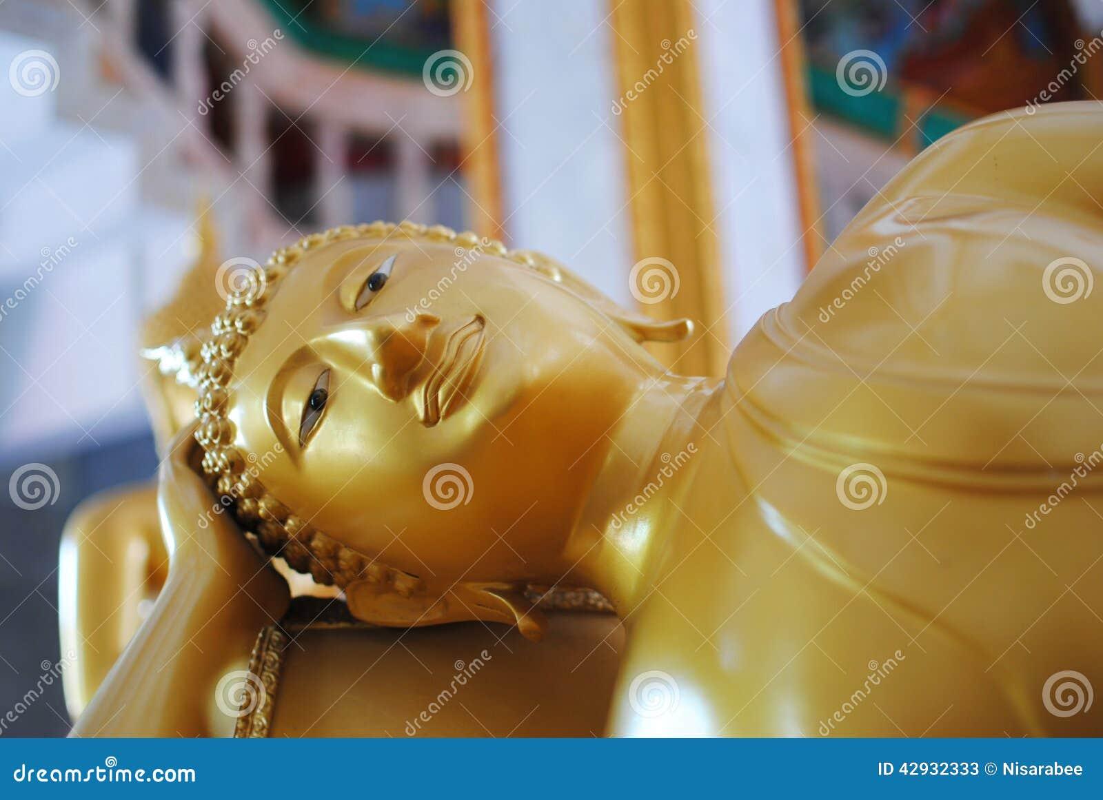 Chiffre se reposant de Bouddha