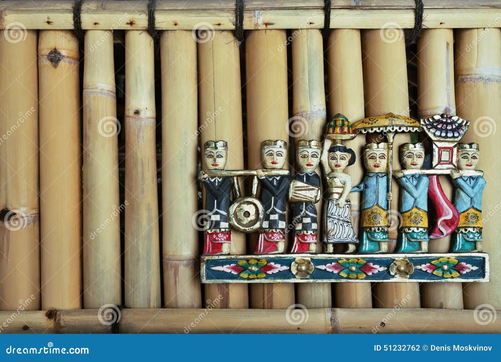 Chiffres de personnes de Balinese