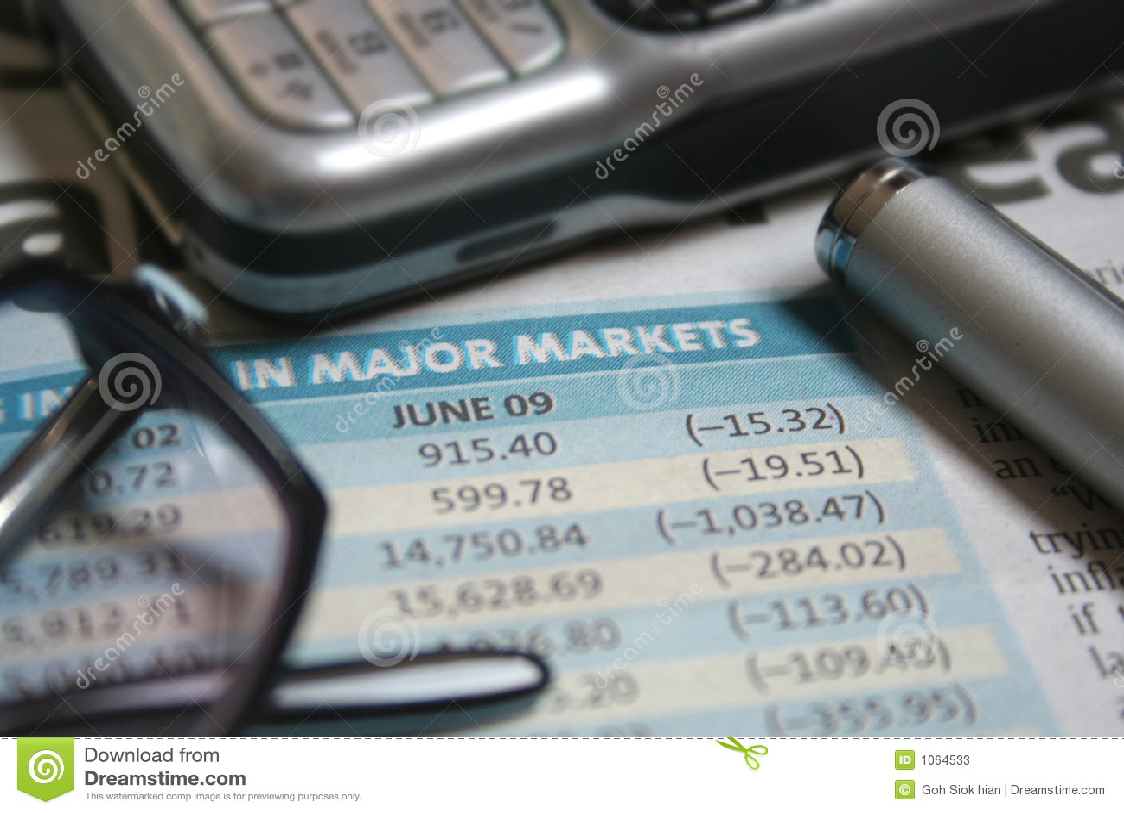Chiffres de stocks