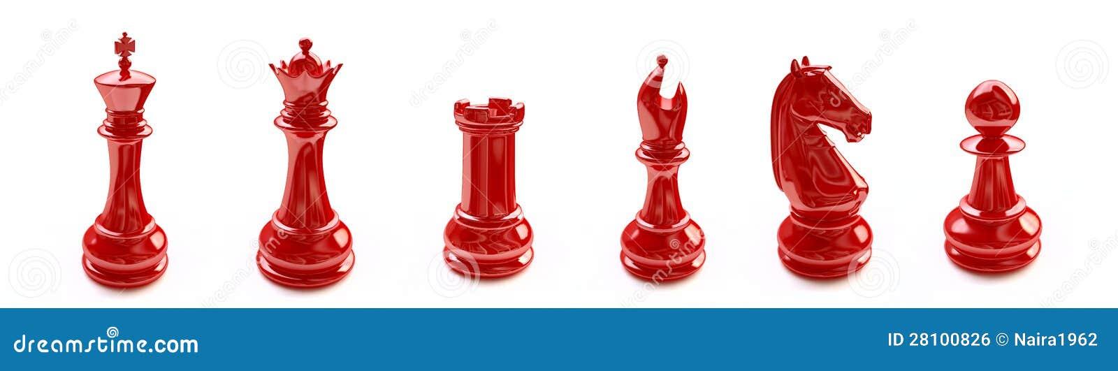 Chiffres rouges d échecs